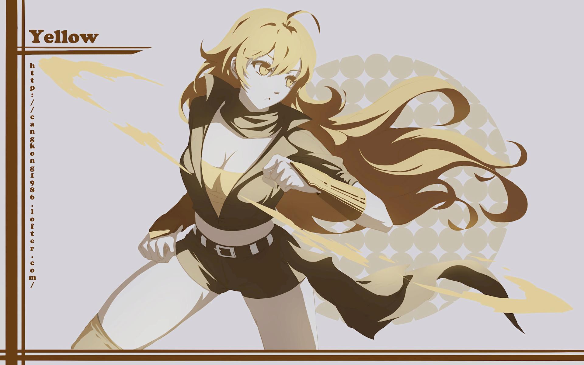 Anime RWBY Yang Xiao Long Wallpaper