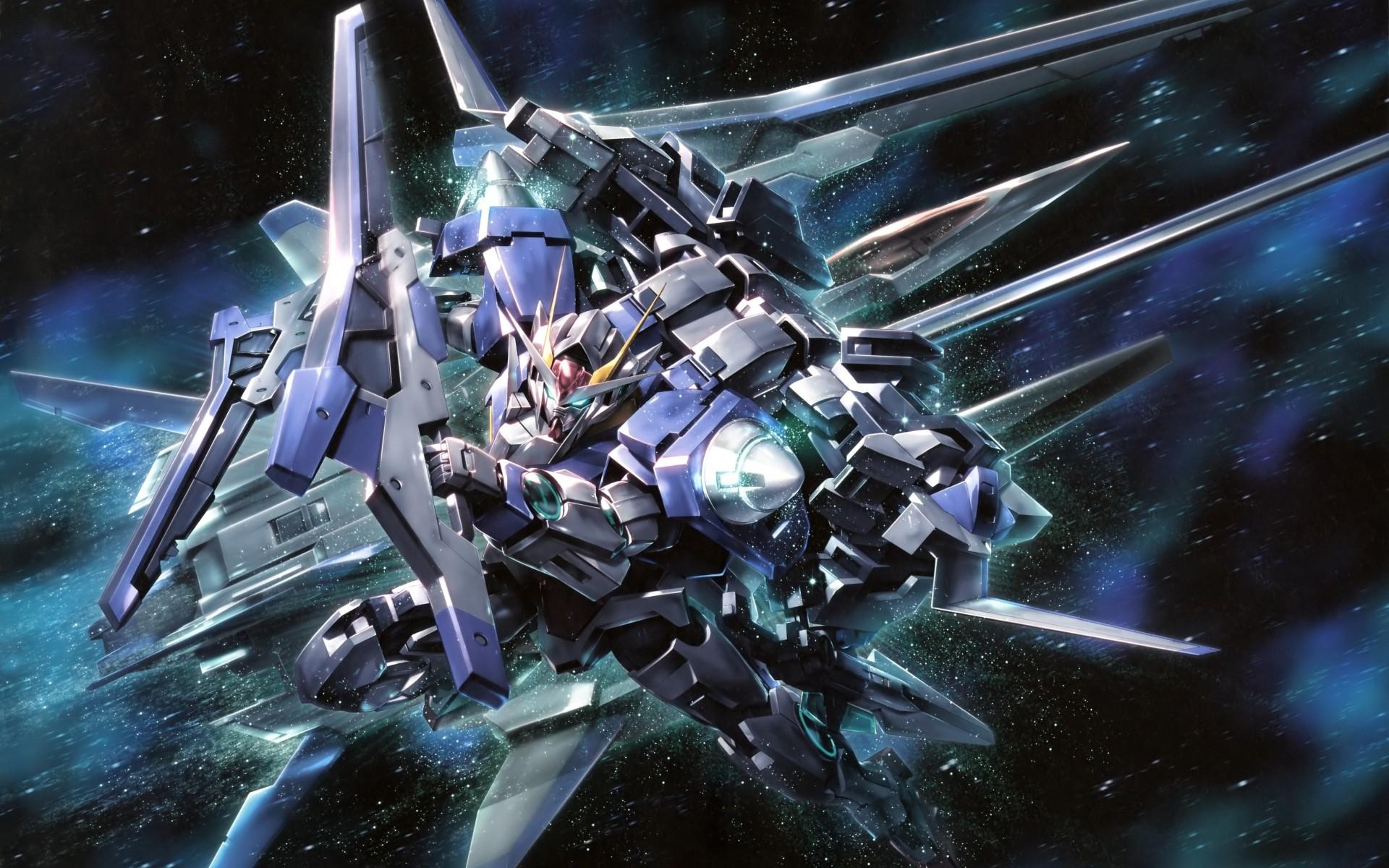 Awesome Gundam X 3D Wallpaper Desktop 901