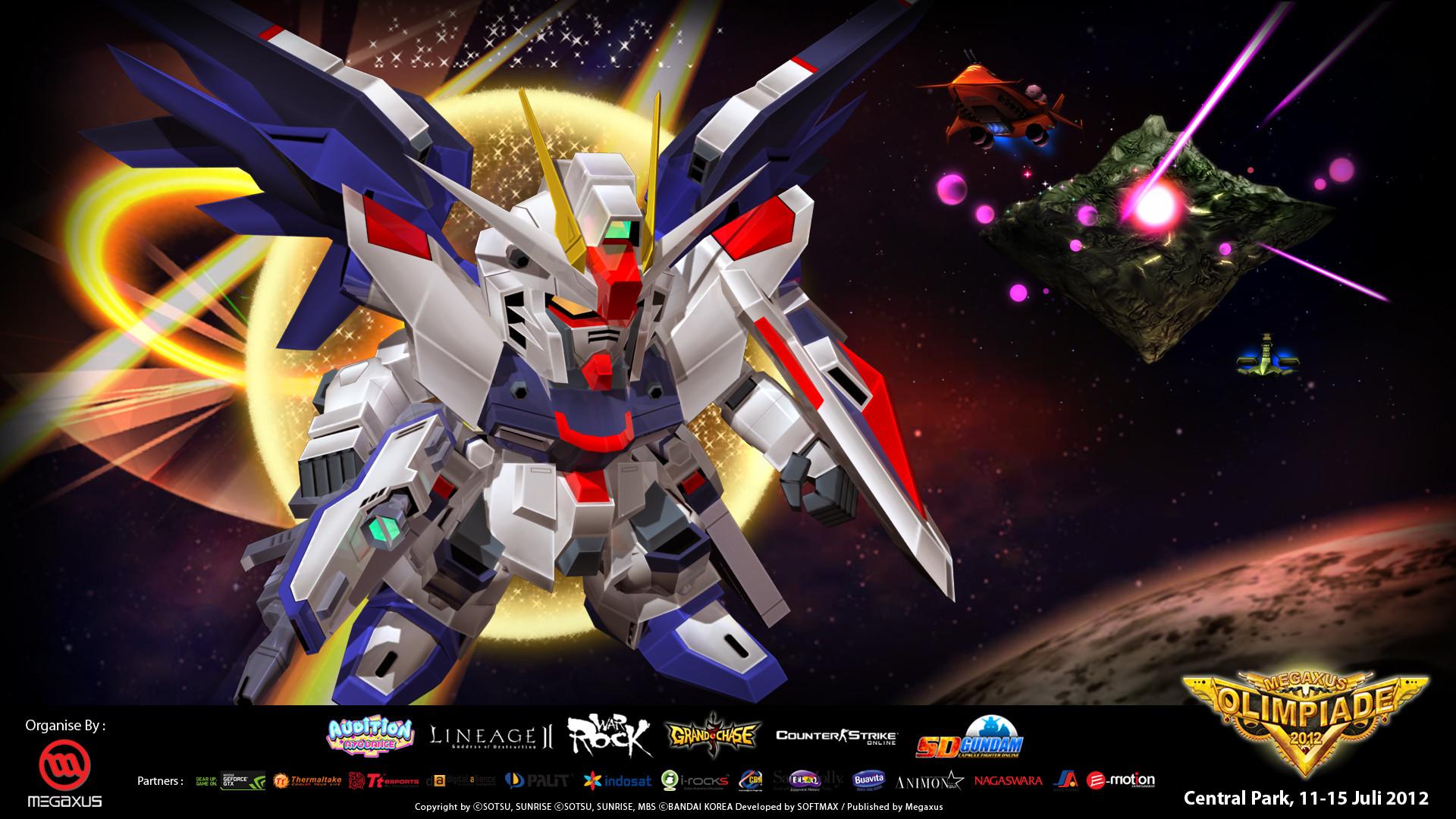 SD Gundam Capsule Fighter HD Wallpaper
