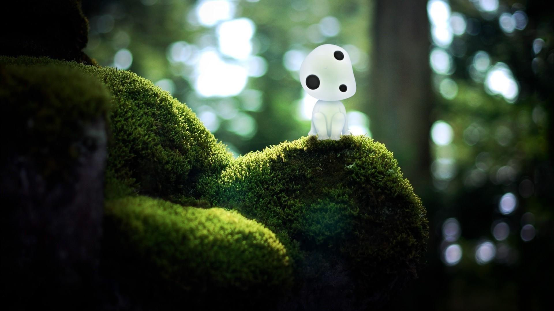 Studio Ghibli, Princess Mononoke, Kodama Wallpapers HD / Desktop and Mobile  Backgrounds
