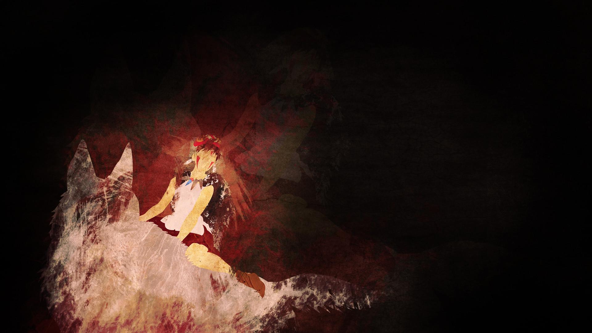 … Princess Mononoke Wallpaper by kaki-tori