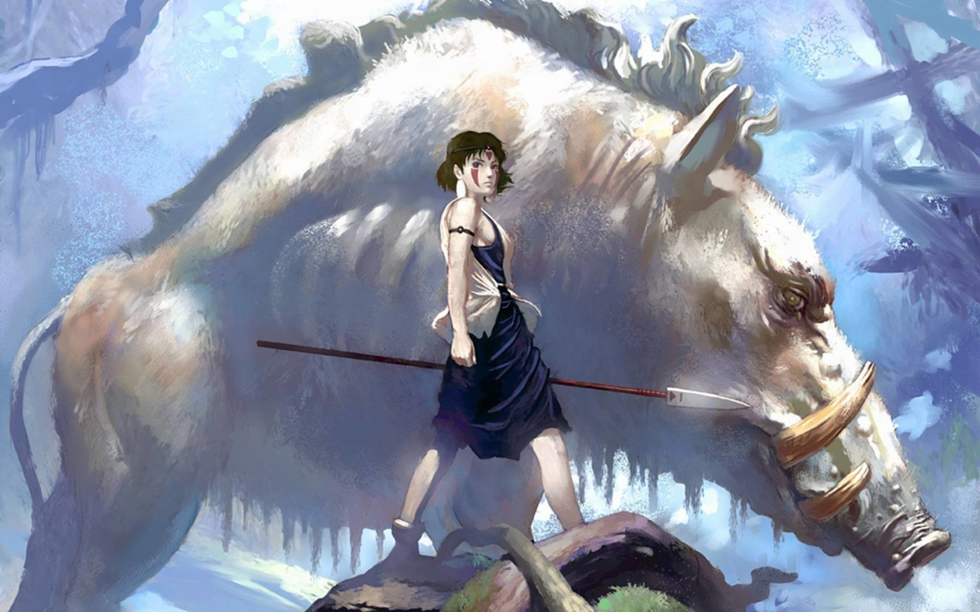 A Princess Mononoke Redesign I Could Get Behind | Workshop, Search .