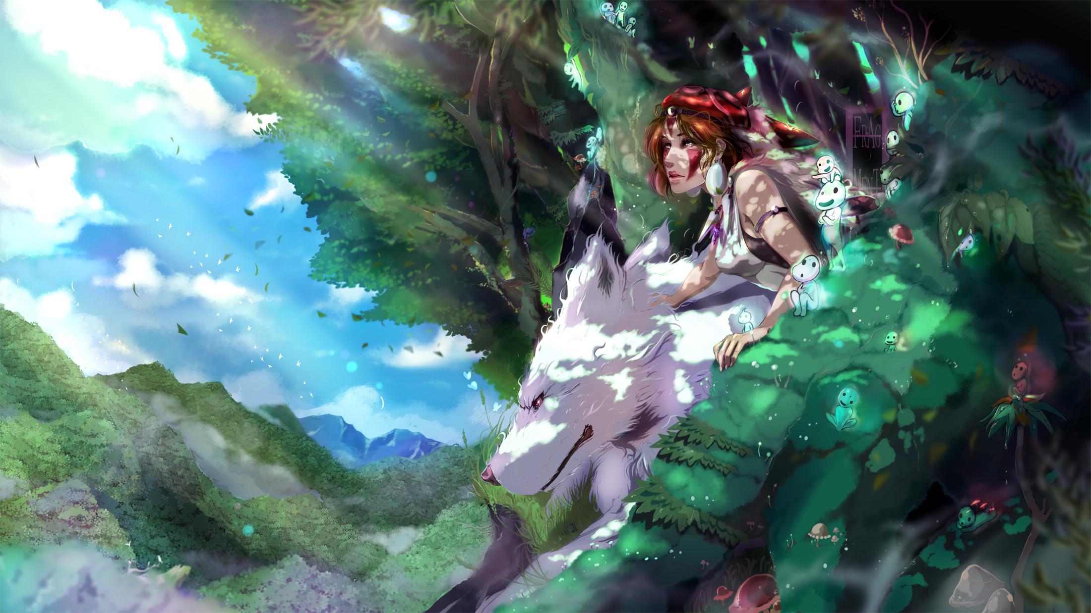 Mononoke Hime · download Mononoke Hime image