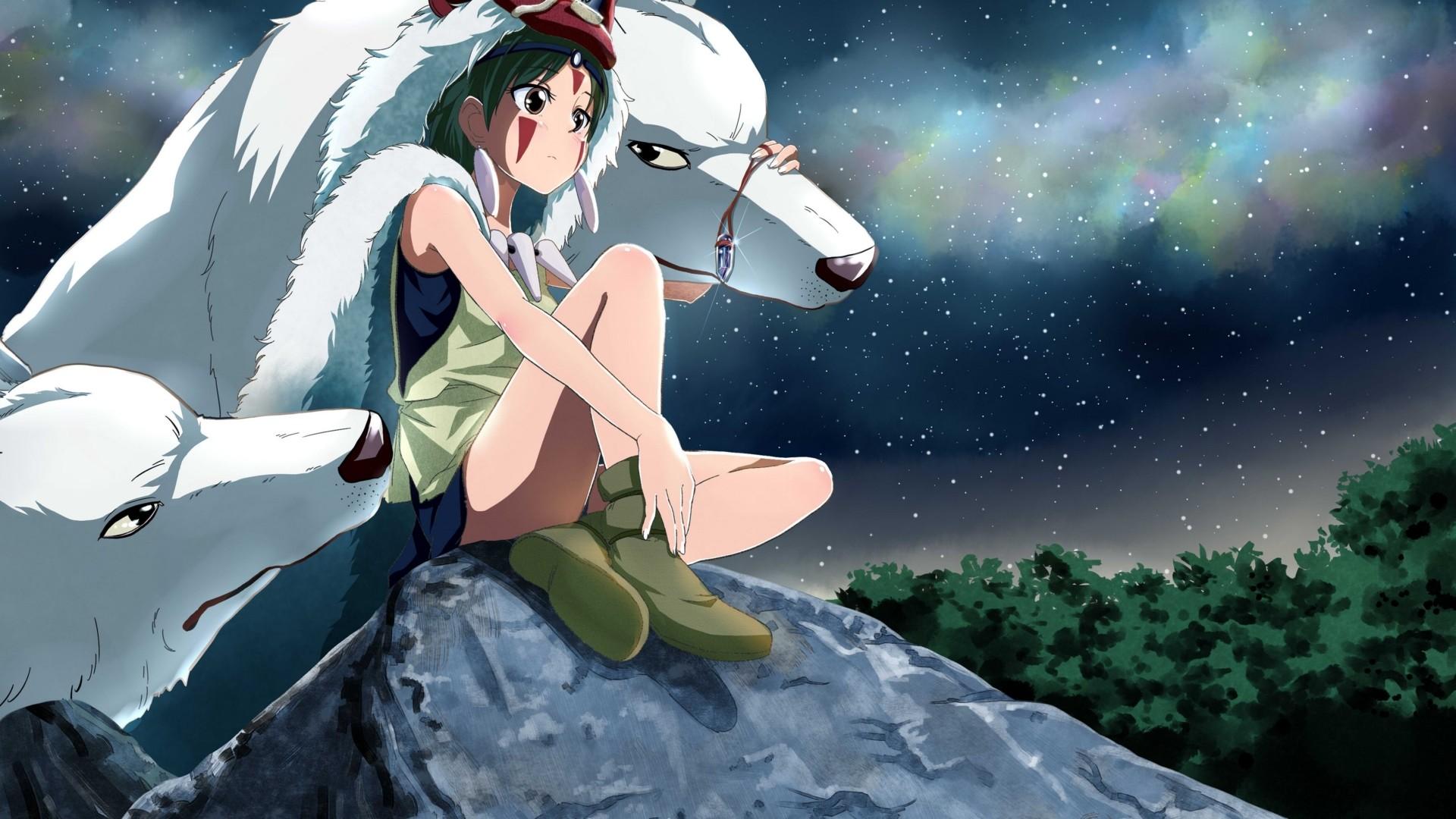 Download Princess Mononoke Hayao Miyazaki Wolf Elite Epic Anime Wallpaper  In Many Resolutions