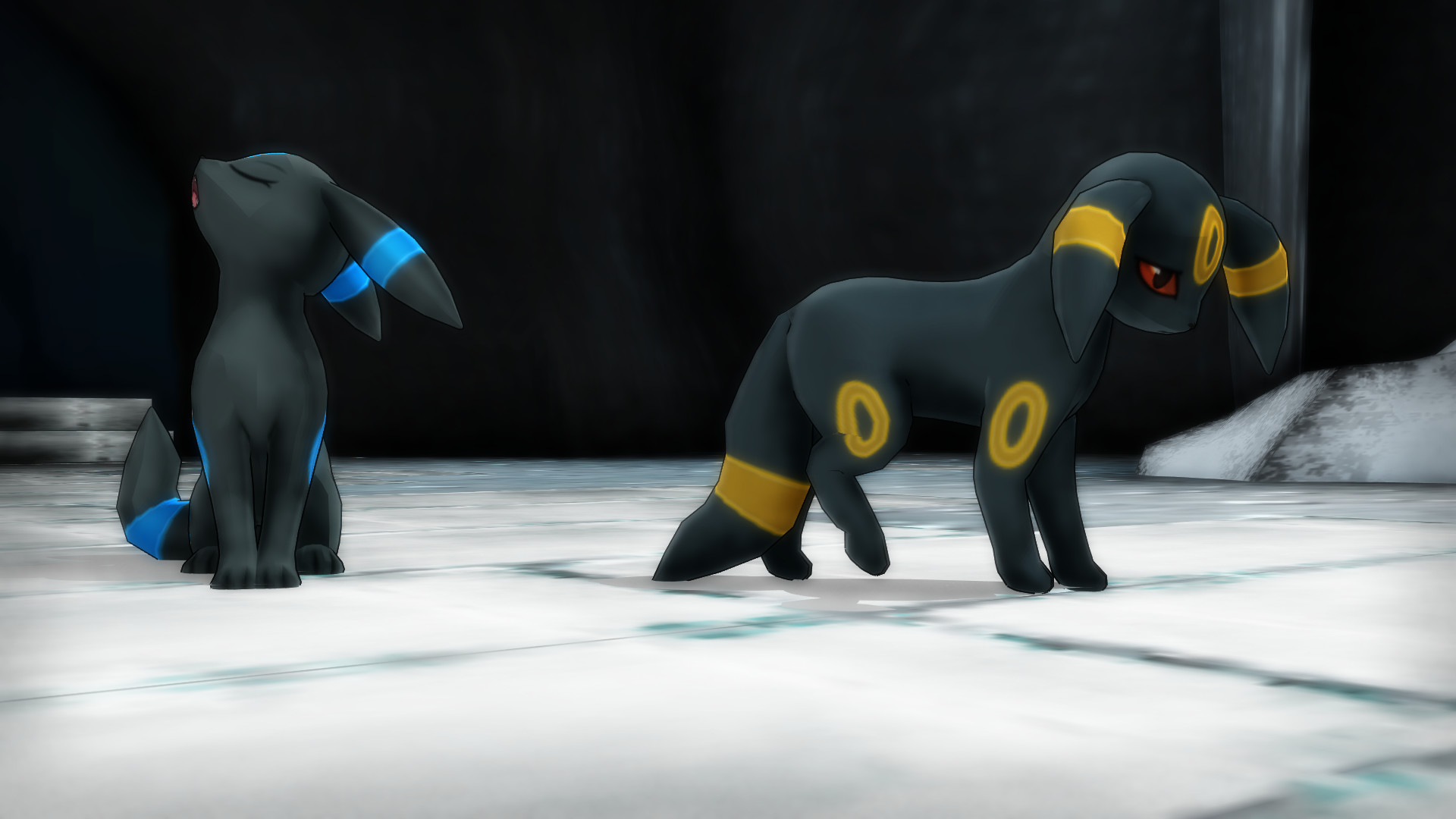 … MMD PK Umbreon DL by 2234083174
