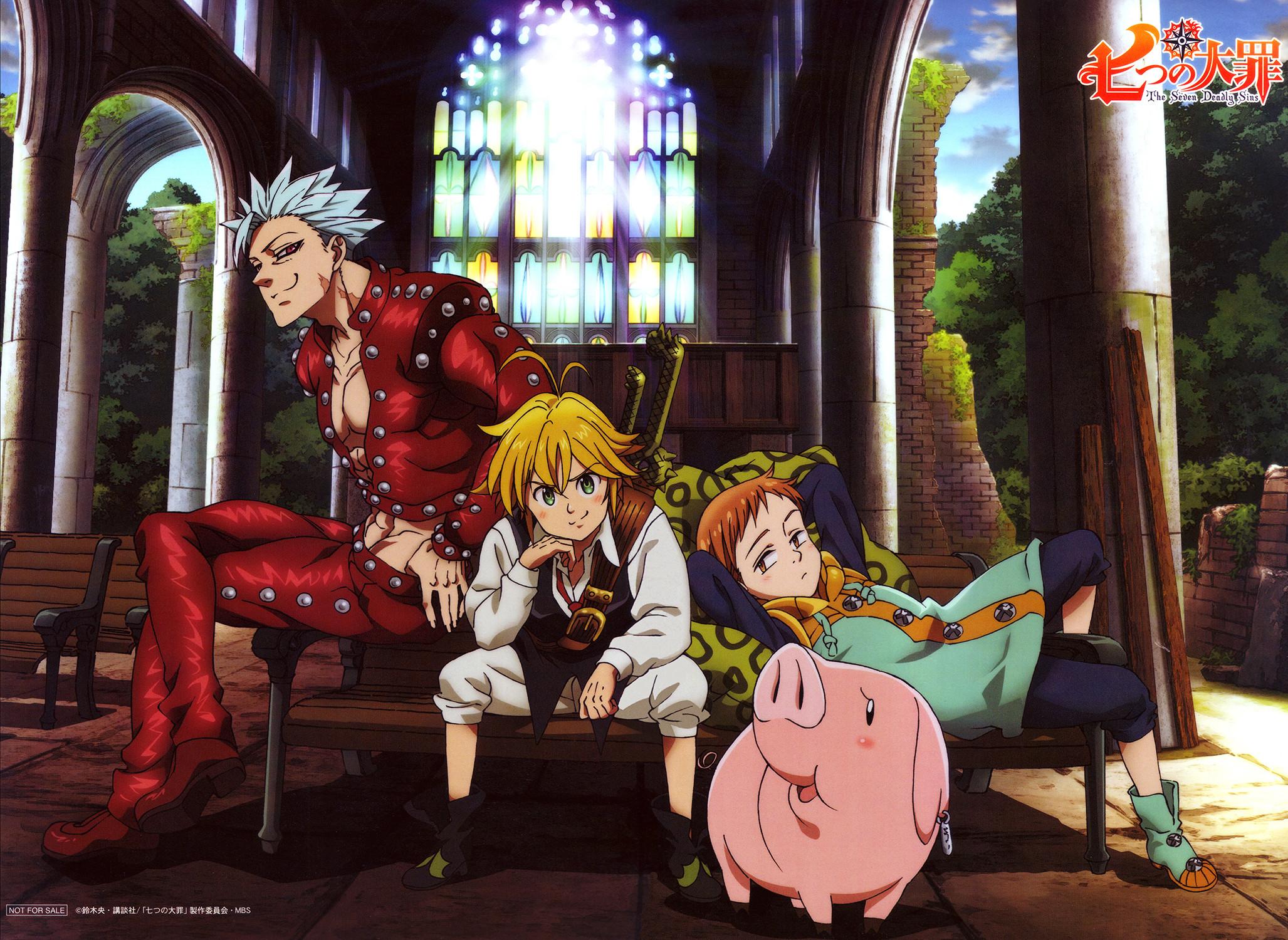 … Nanatsu no Taizai / Seven Deadly Sins Wallpaper HD by corphish2