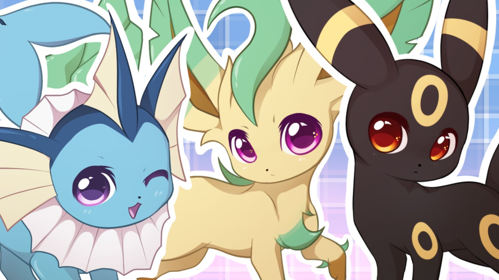 Chibi Eeveelutions | chibi pokemon eevee evolutions by .