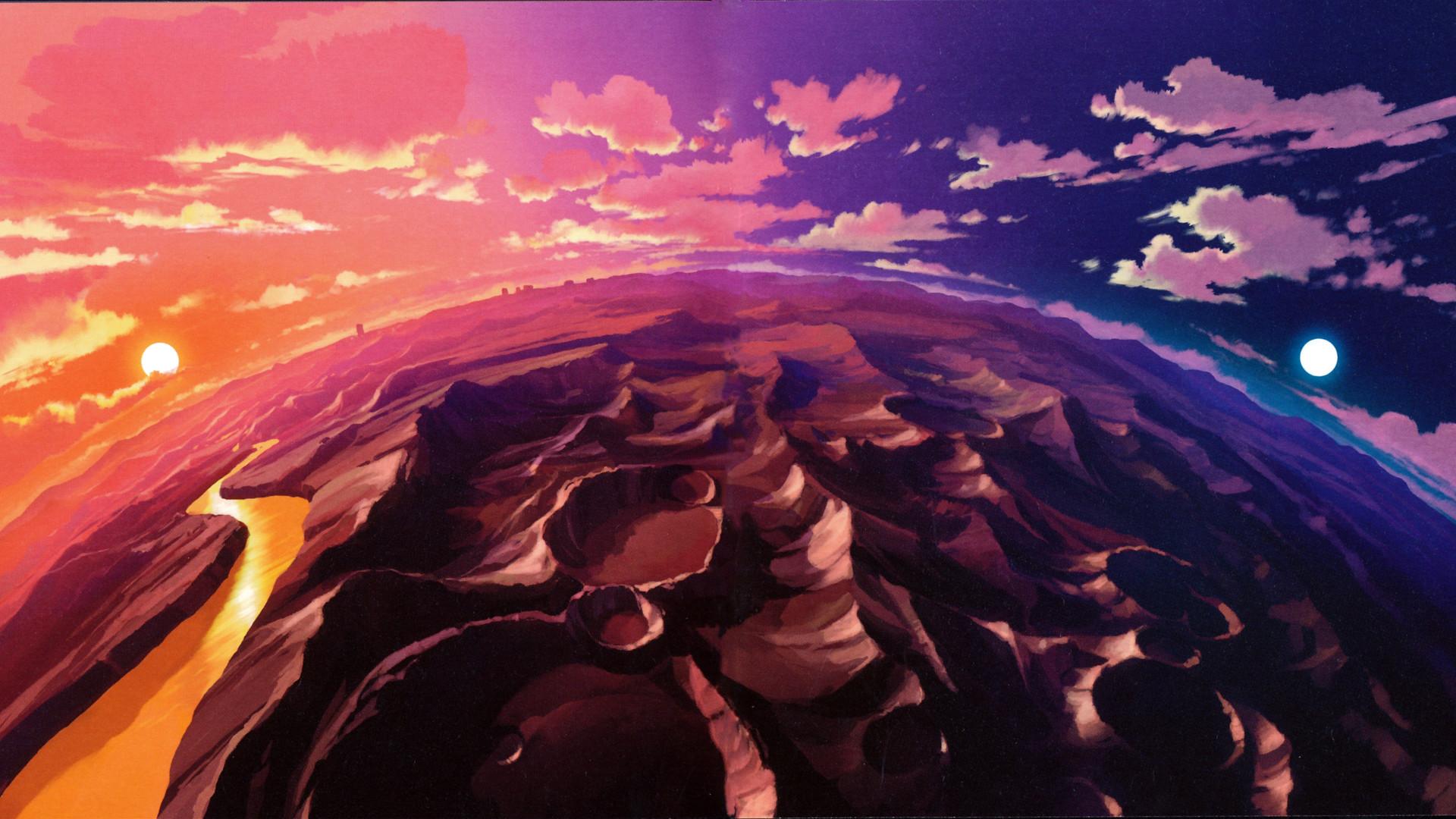 Planet Tengen Toppa anime Gurren Lagann wallpapers and images .
