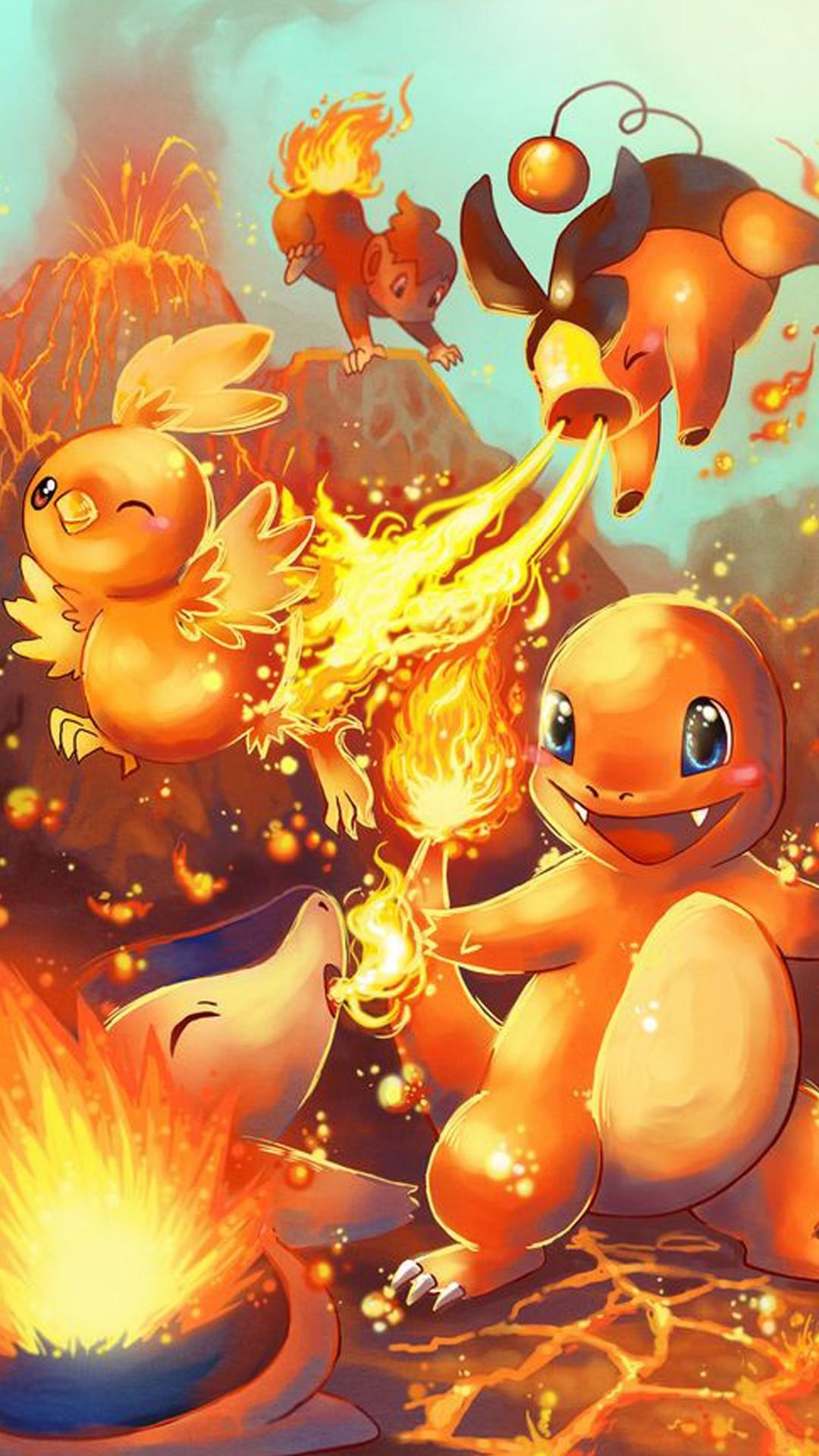 Pokemon Fire Wallpaper