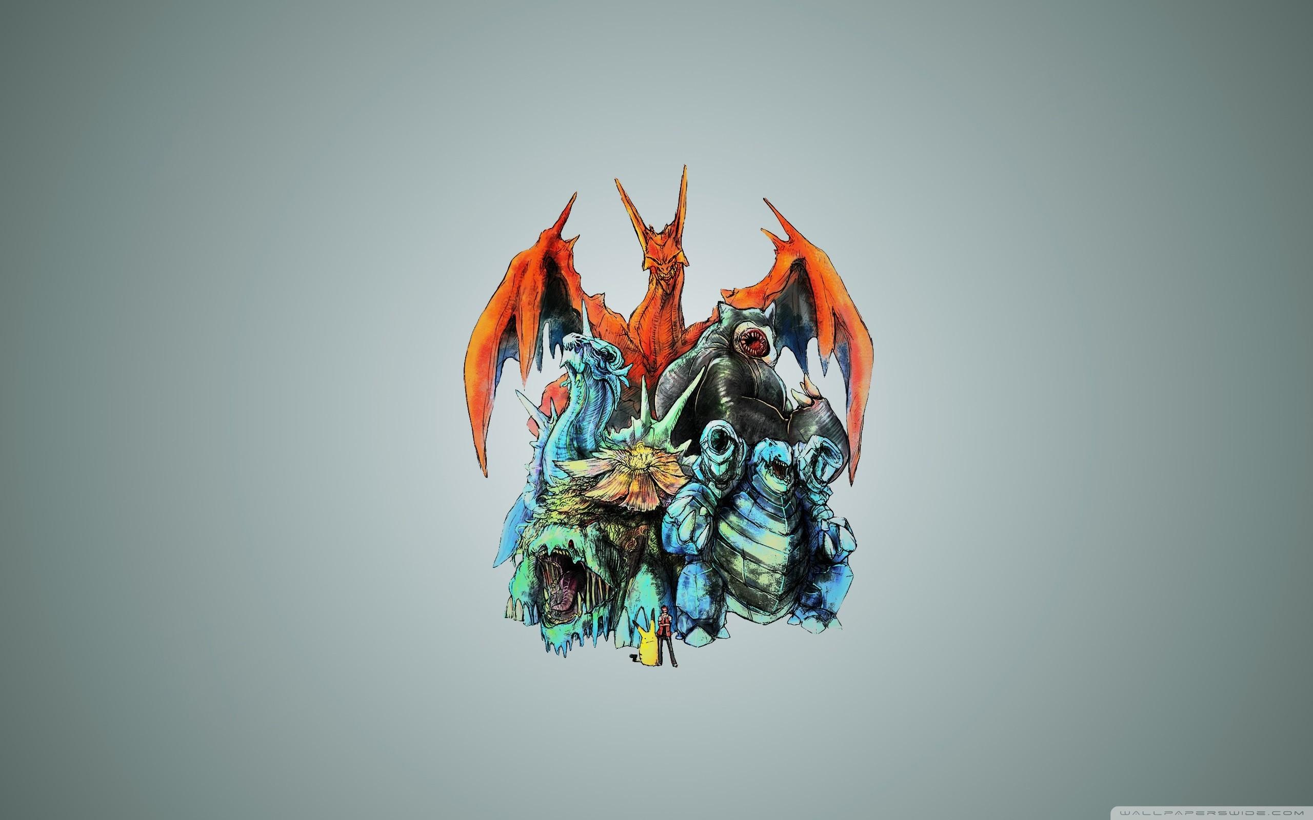 Pokemon Monsters HD Wide Wallpaper for Widescreen