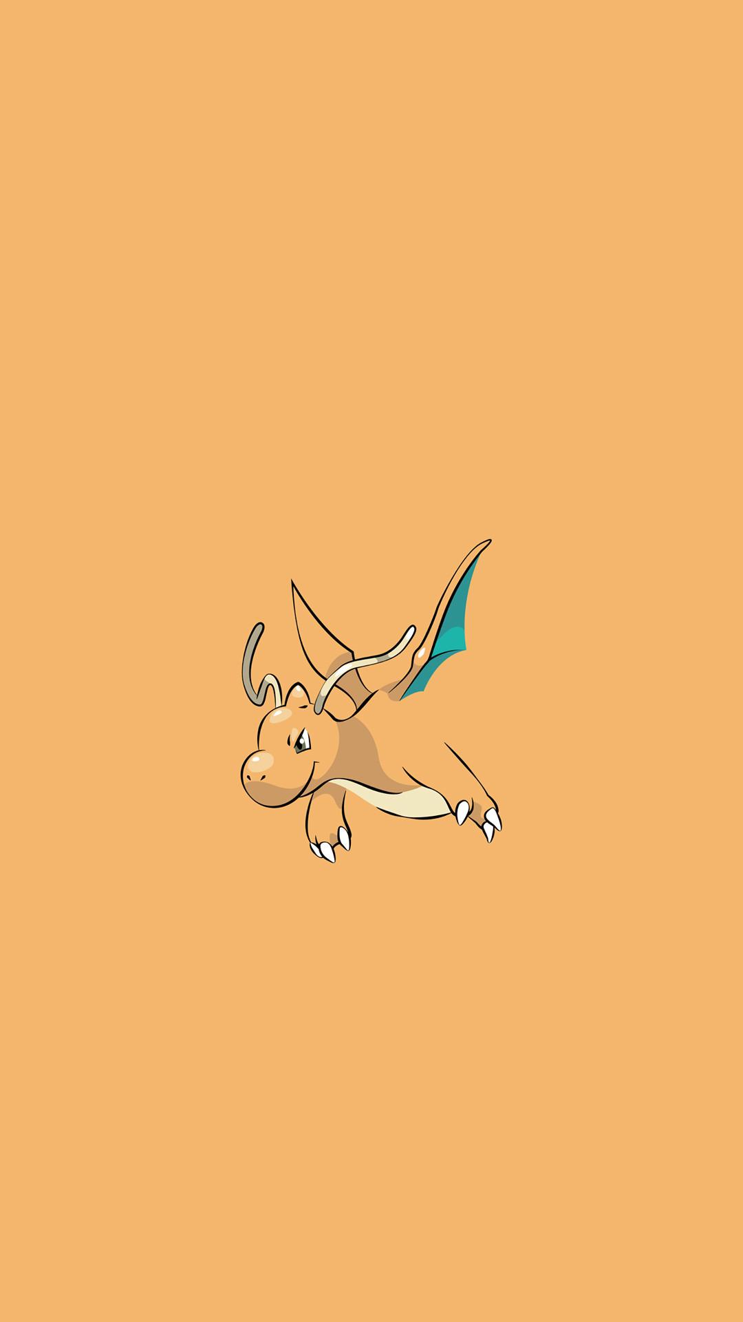 Dragonite Pokemon Character iPhone 6+ HD Wallpaper –  https://freebestpicture.com