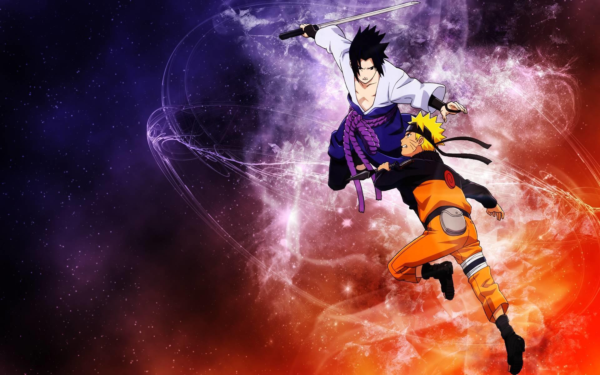 Sasuke and Naruto Shippuden Wallpaper HD – WallFinest
