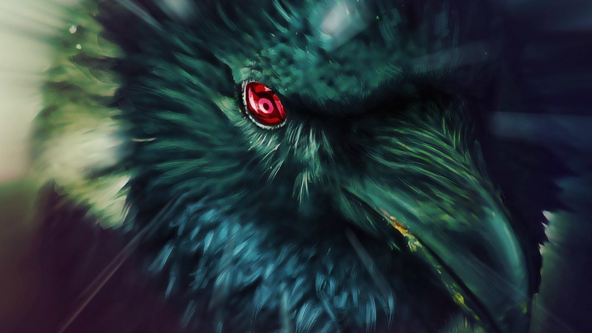 Itachi's Crow – Naruto wallpaper – 1023679