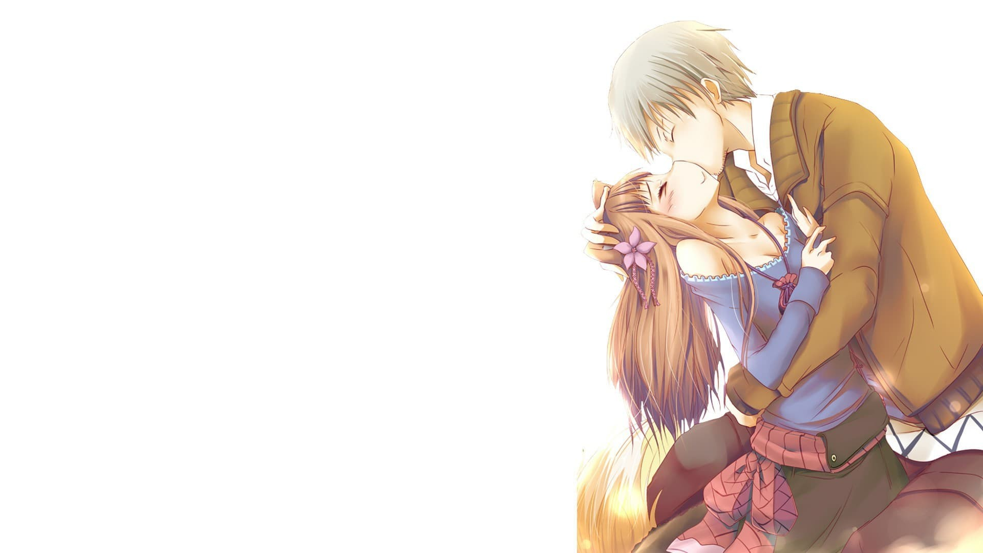 Spice And Wolf – Kraft Lawrence With Holo kissing