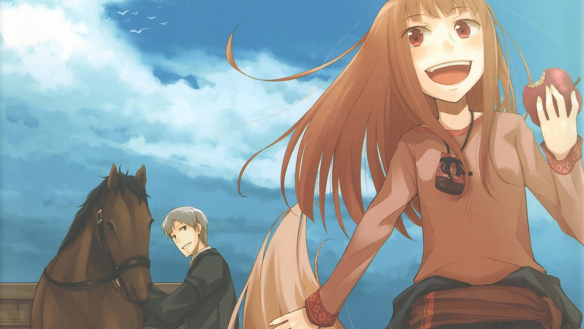 HD Wallpaper | Background ID:177296. Anime Spice and Wolf
