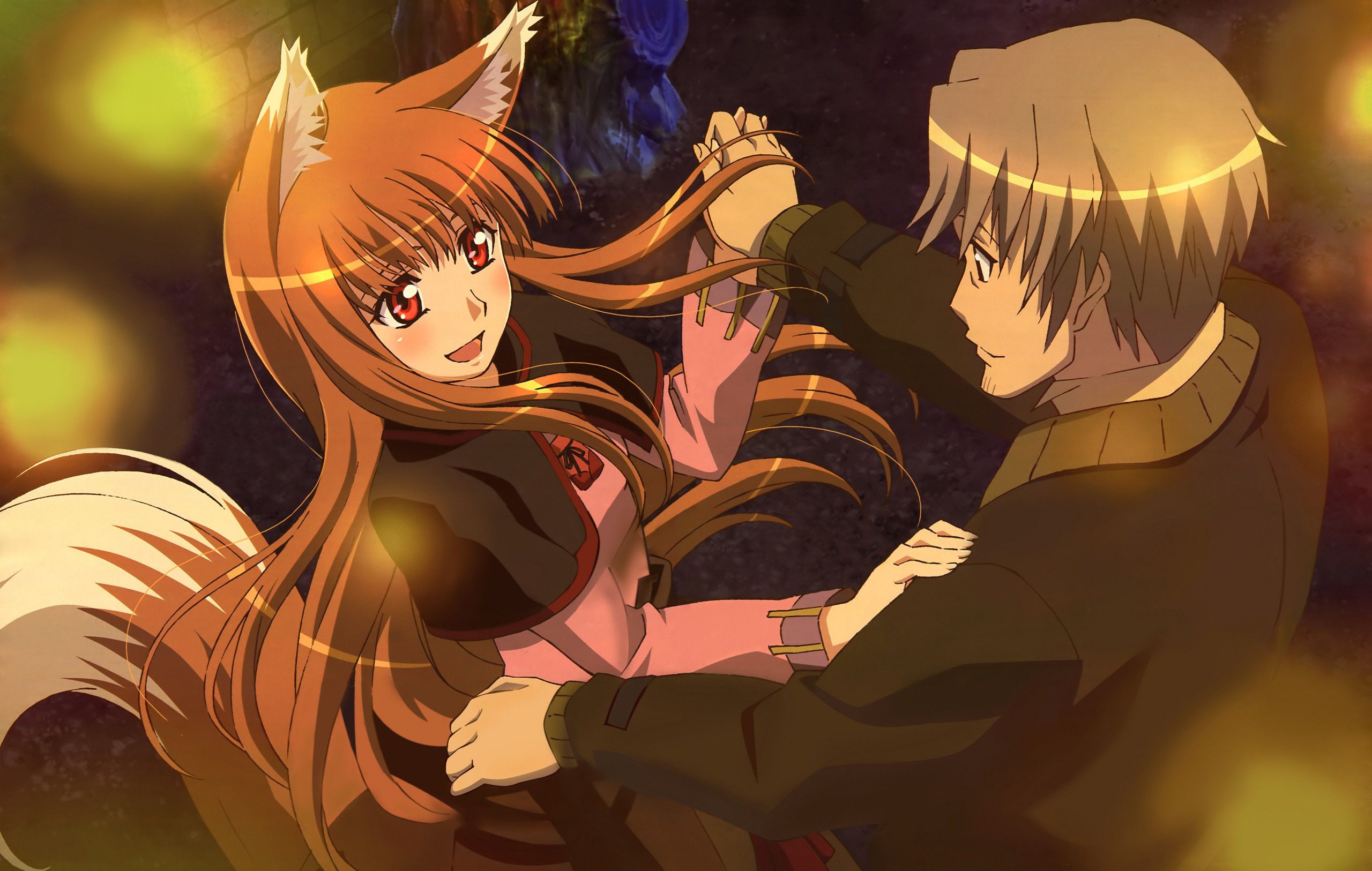 Spice And Wolf Images Lawrence And Holo Dancing 2gether Hd
