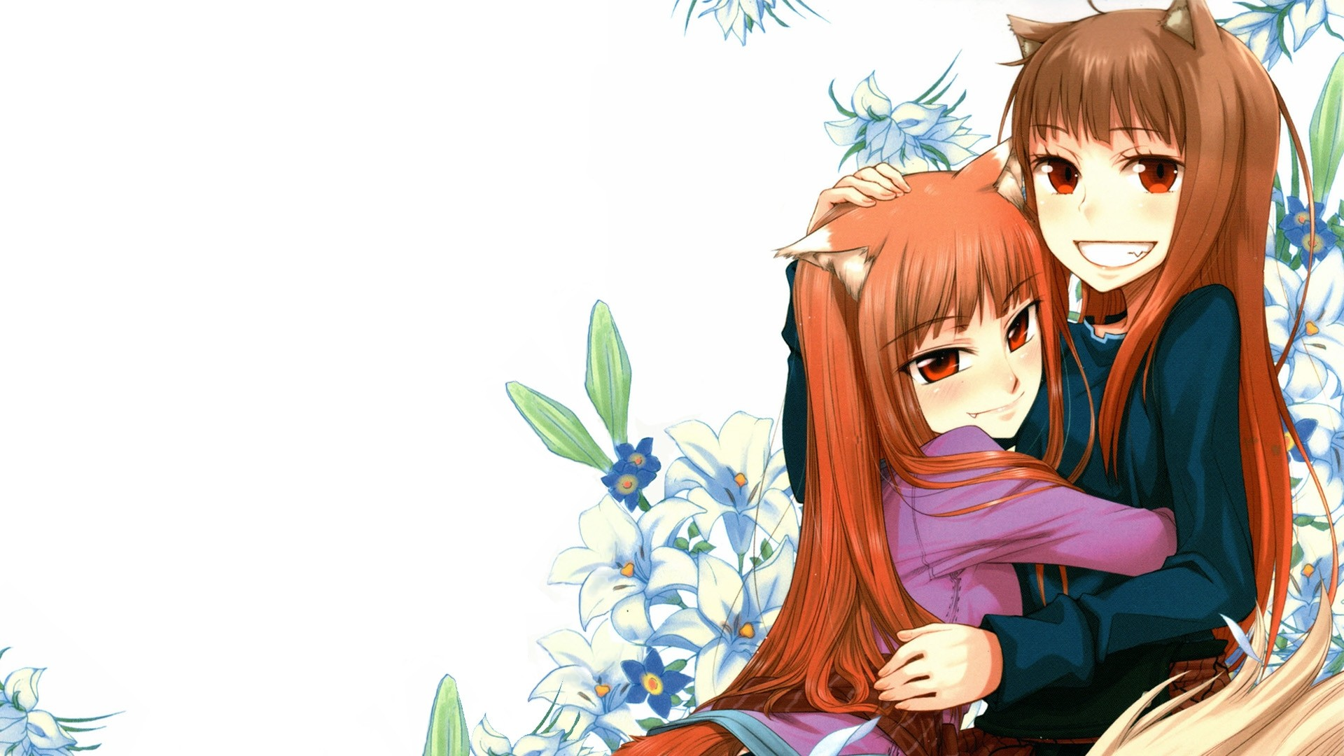 Holo Spice Wolf HD Wallpapers Backgrounds Wallpaper 1920×1080