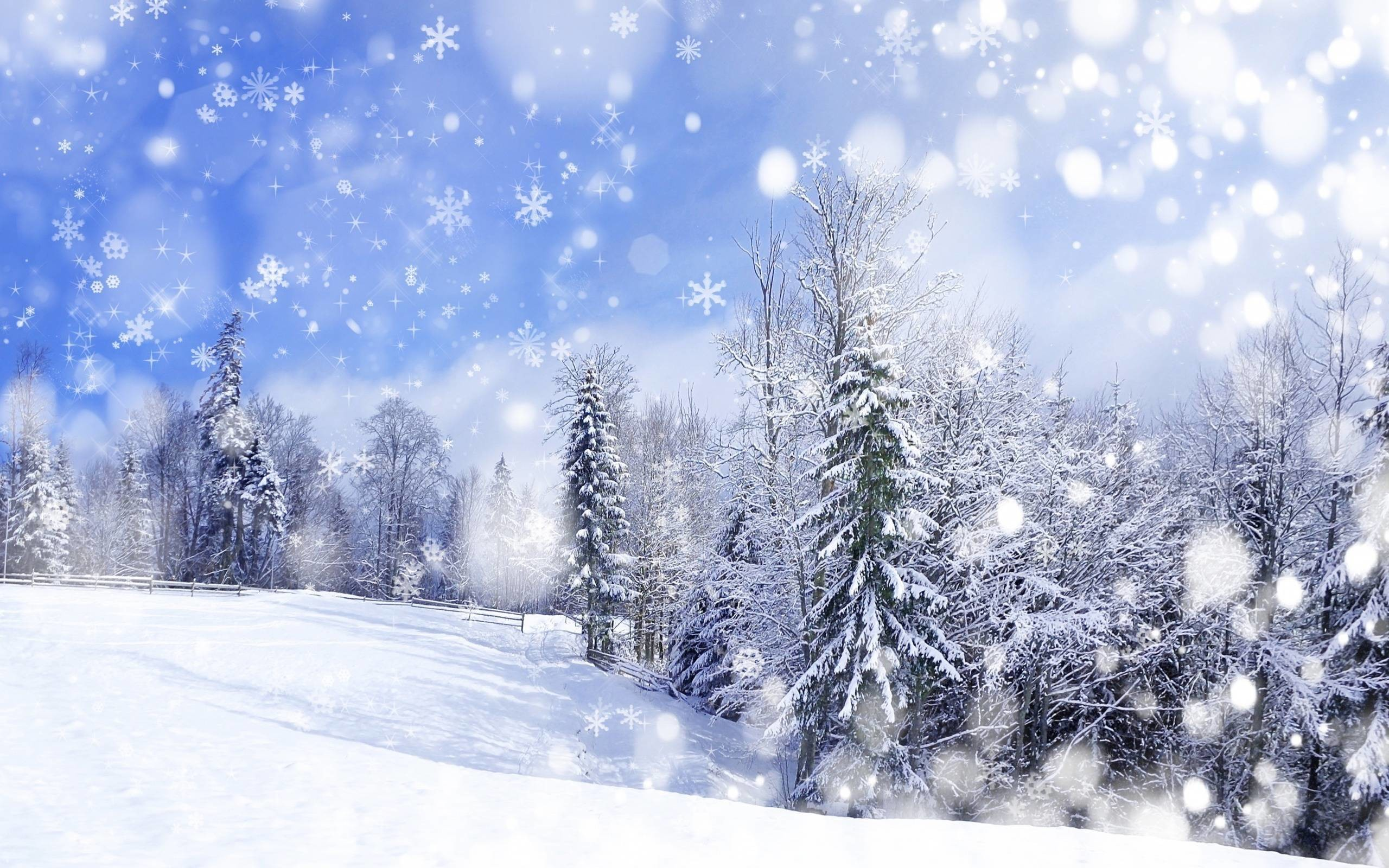 Anime Winter Scenery Wallpaper – HD Wallpapers Backgrounds of Your Choice