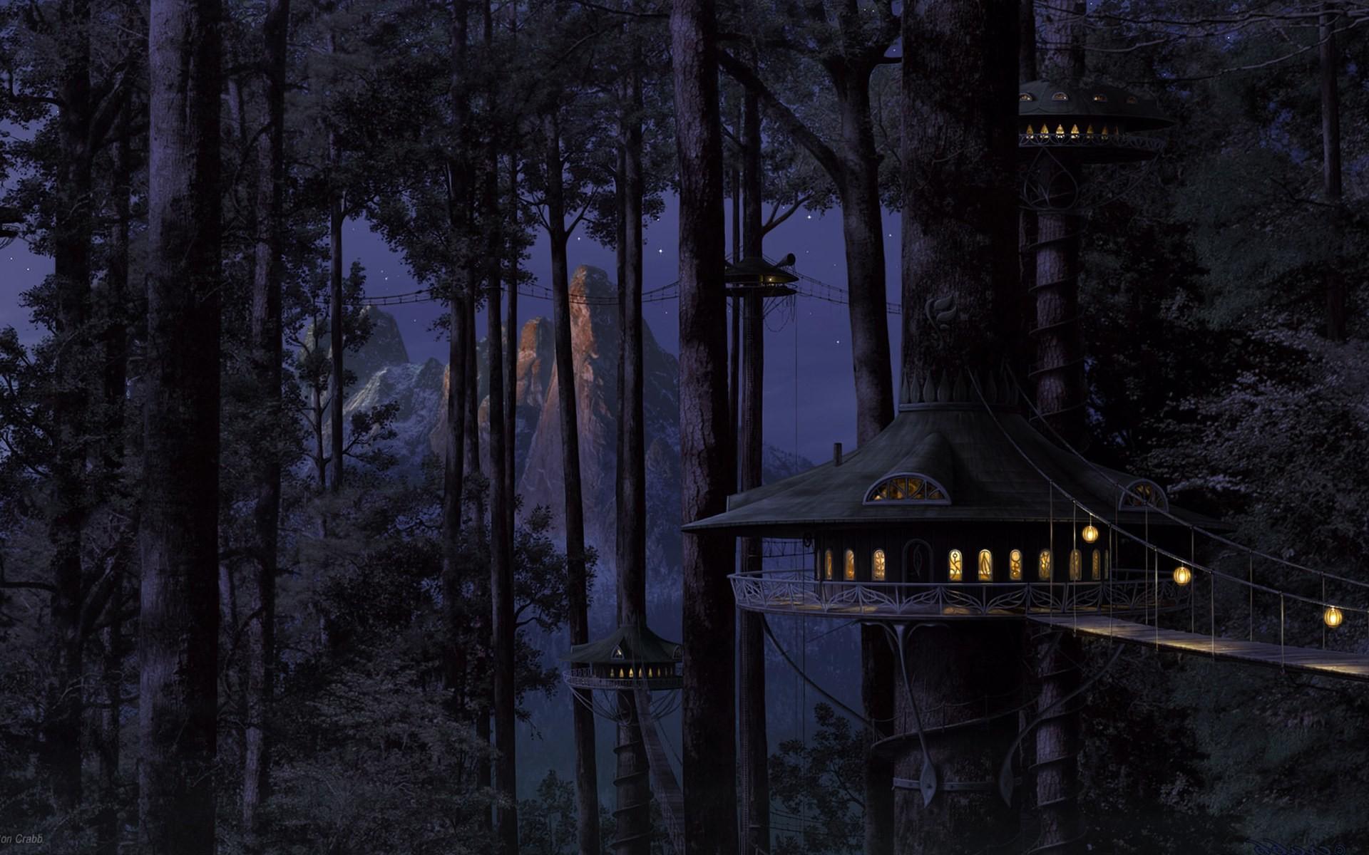 fantasy forest Wallpaper Backgrounds