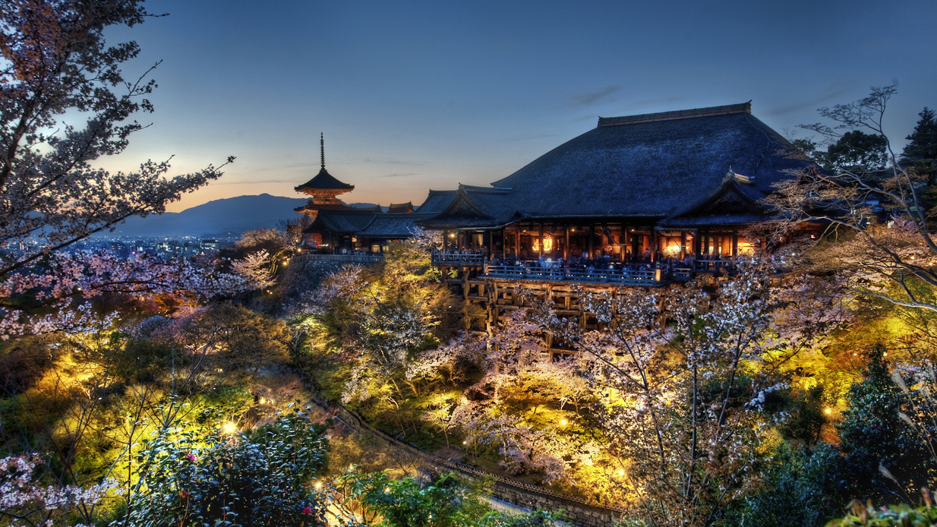 Home of the Tree Samurai, Japan widescreen wallpaper