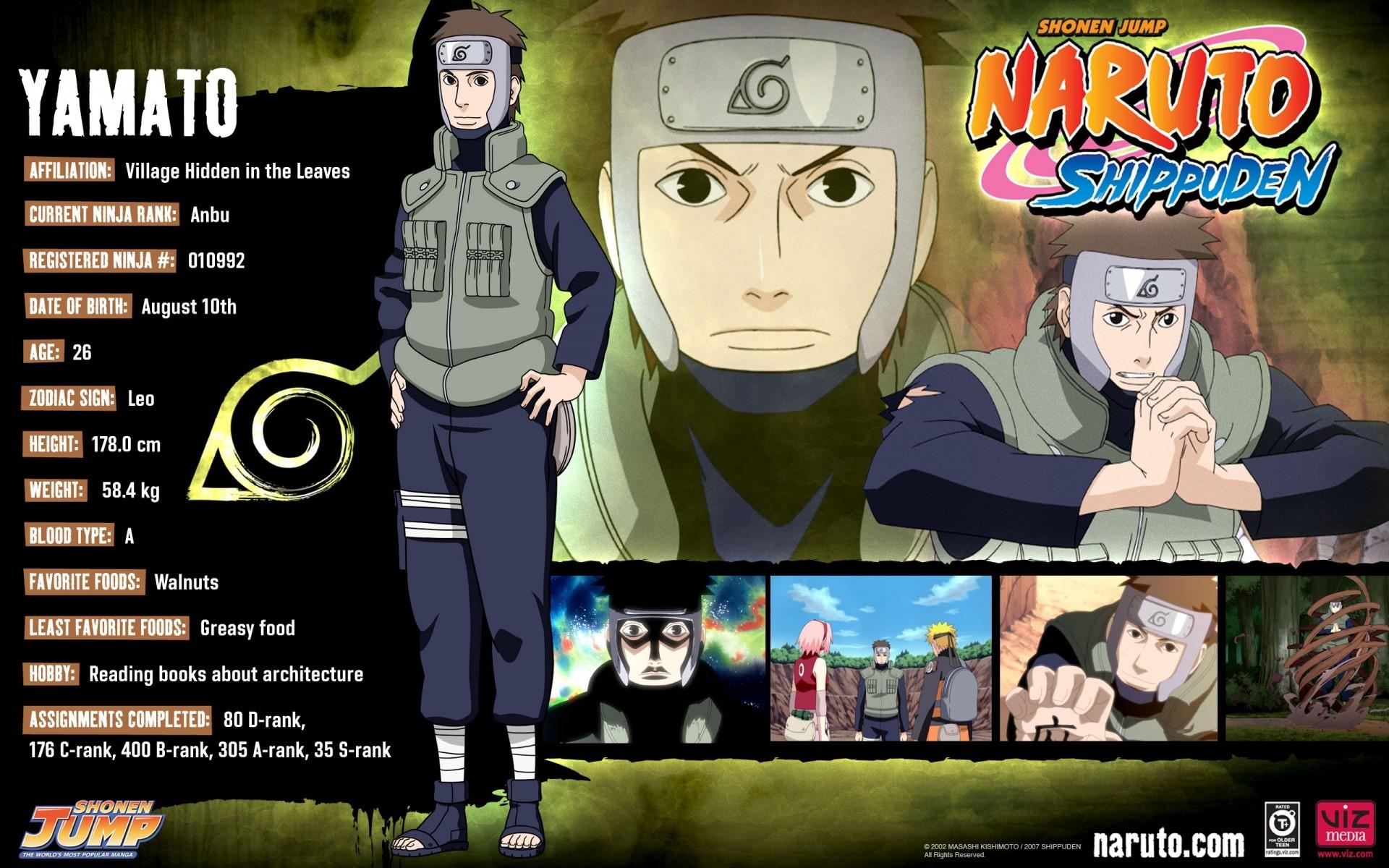 Yamato Naruto shippuden wallpaper