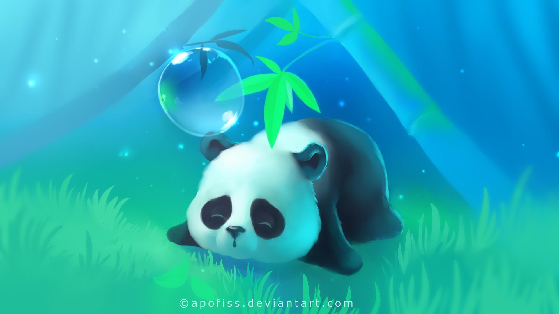 … Panda Anime Full HD Pics Wallpapers 9517   Amazing Wallpaperz