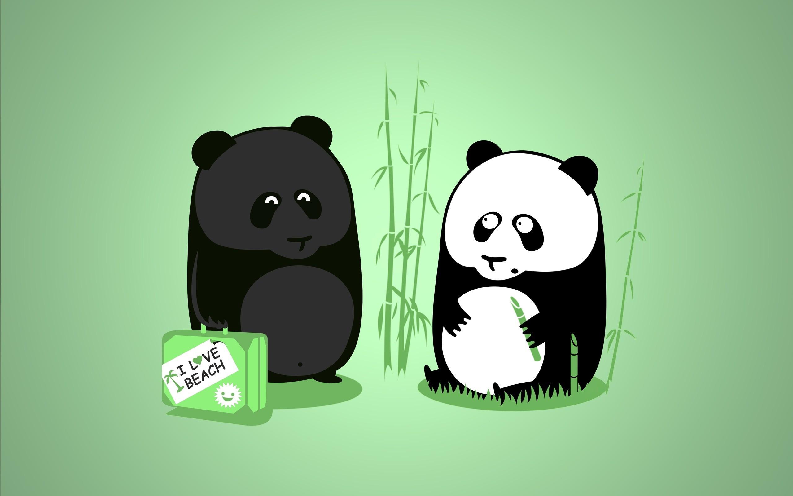Funny Panda Cartoon Wallpaper With Quote #8079   Frenzia.com