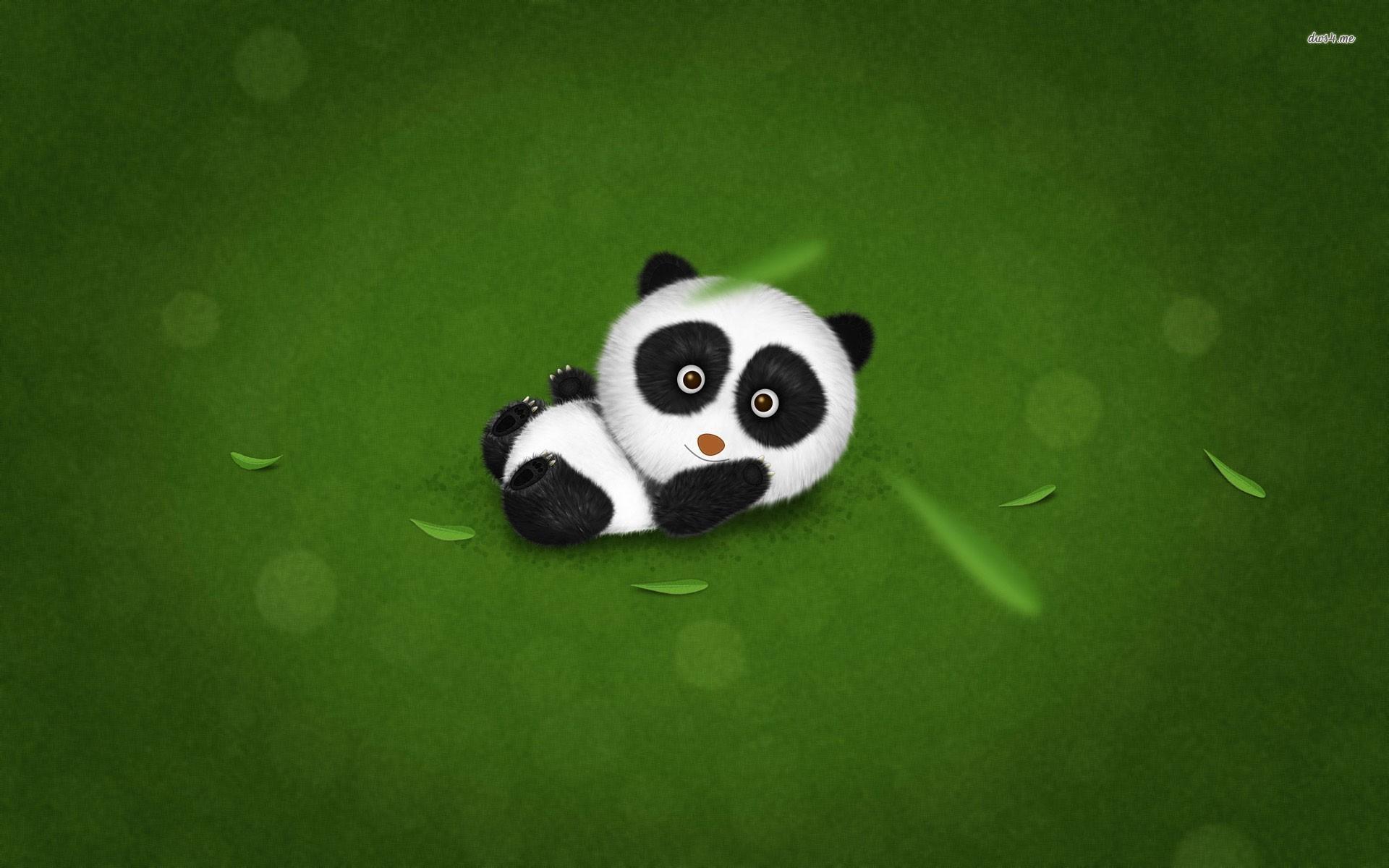 Baby panda wallpaper – Digital Art wallpapers – #10810