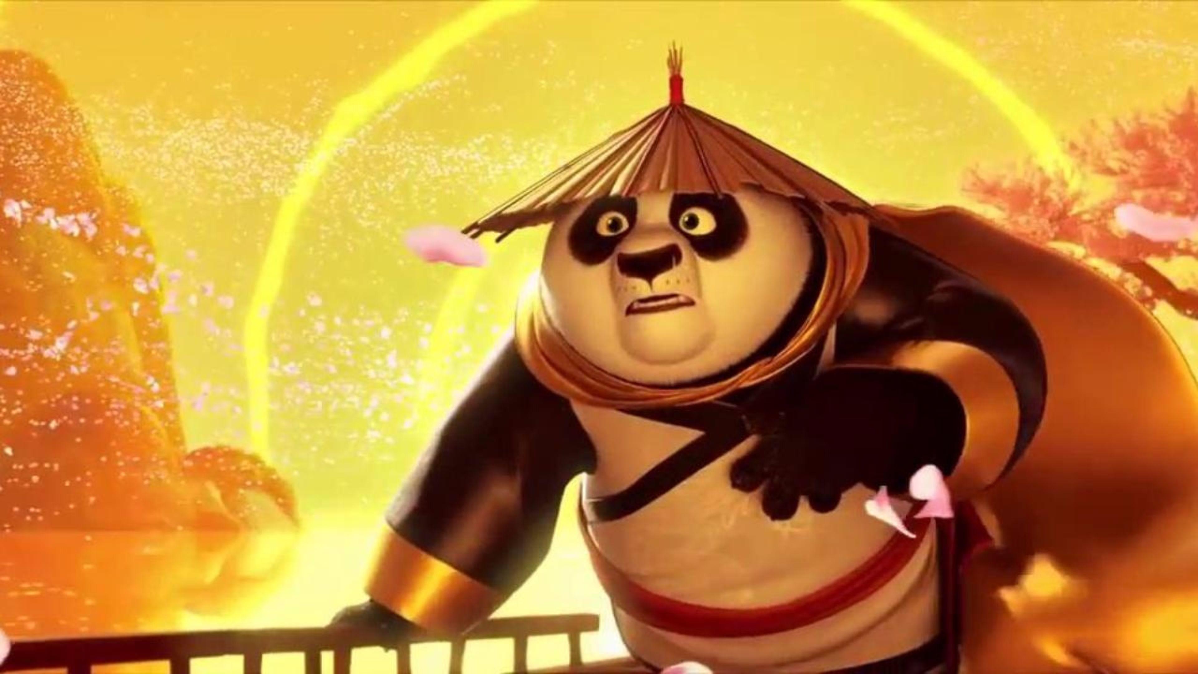 Launch Trailer Kung Fu Panda 3 Movie 4K Wallpaper   Free 4K Wallpaper