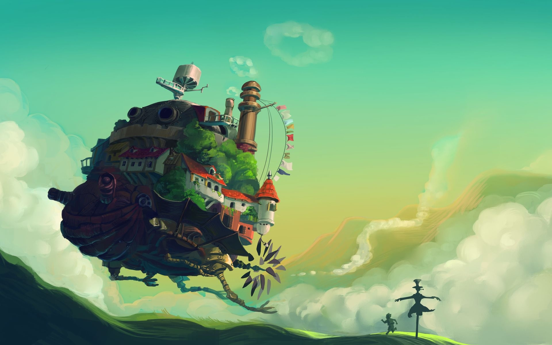 howl's moving castle moving spell | Howl's Moving Castle Wallpaper – High  Definition wallpapers | Latest