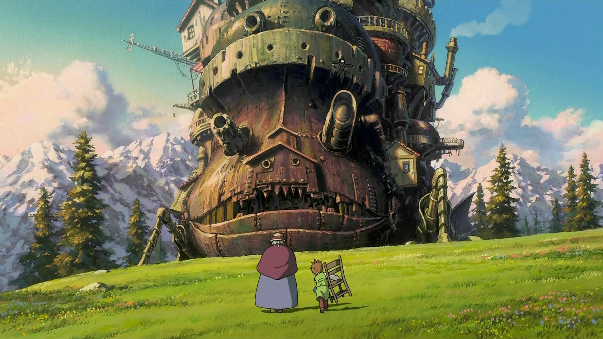 Howl's Moving Castle …