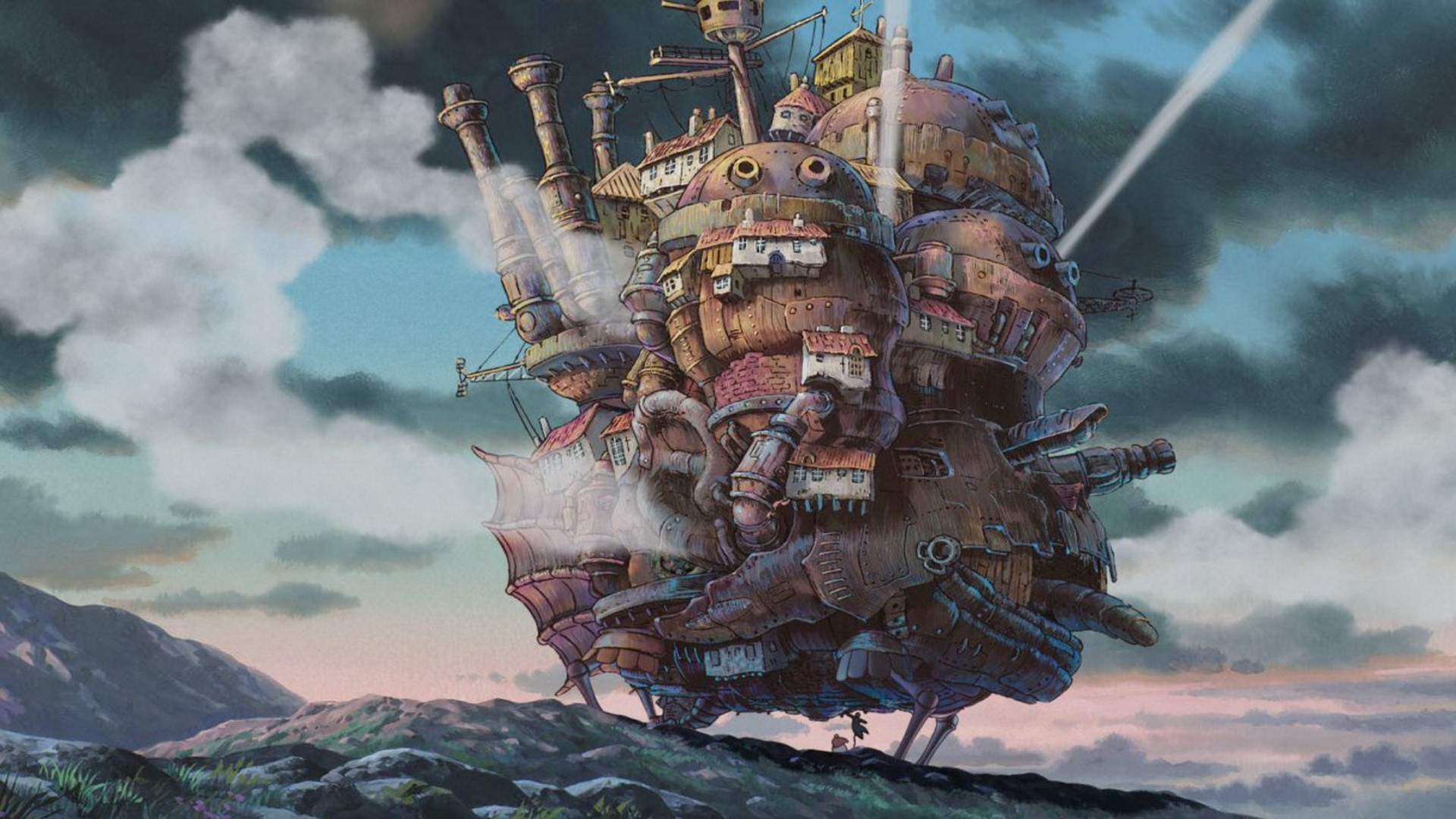 Studio Ghibli, Howl's Moving Castle, Anime Wallpapers HD / Desktop and  Mobile Backgrounds