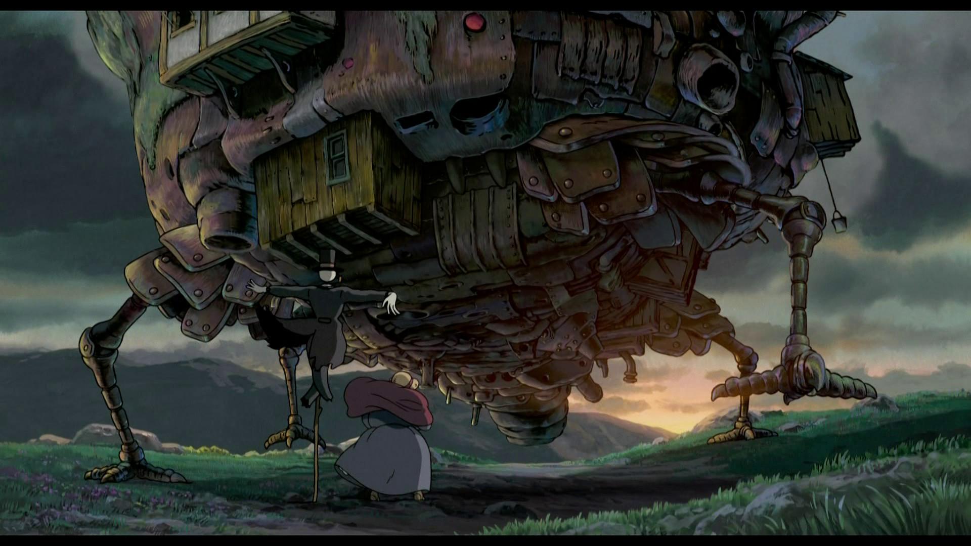 Hayao Miyazaki Howl's Moving Castle wallpaper – 896140