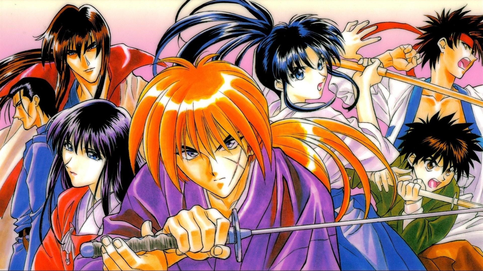 Download now full hd wallpaper rurouni kenshin samurai warrior …