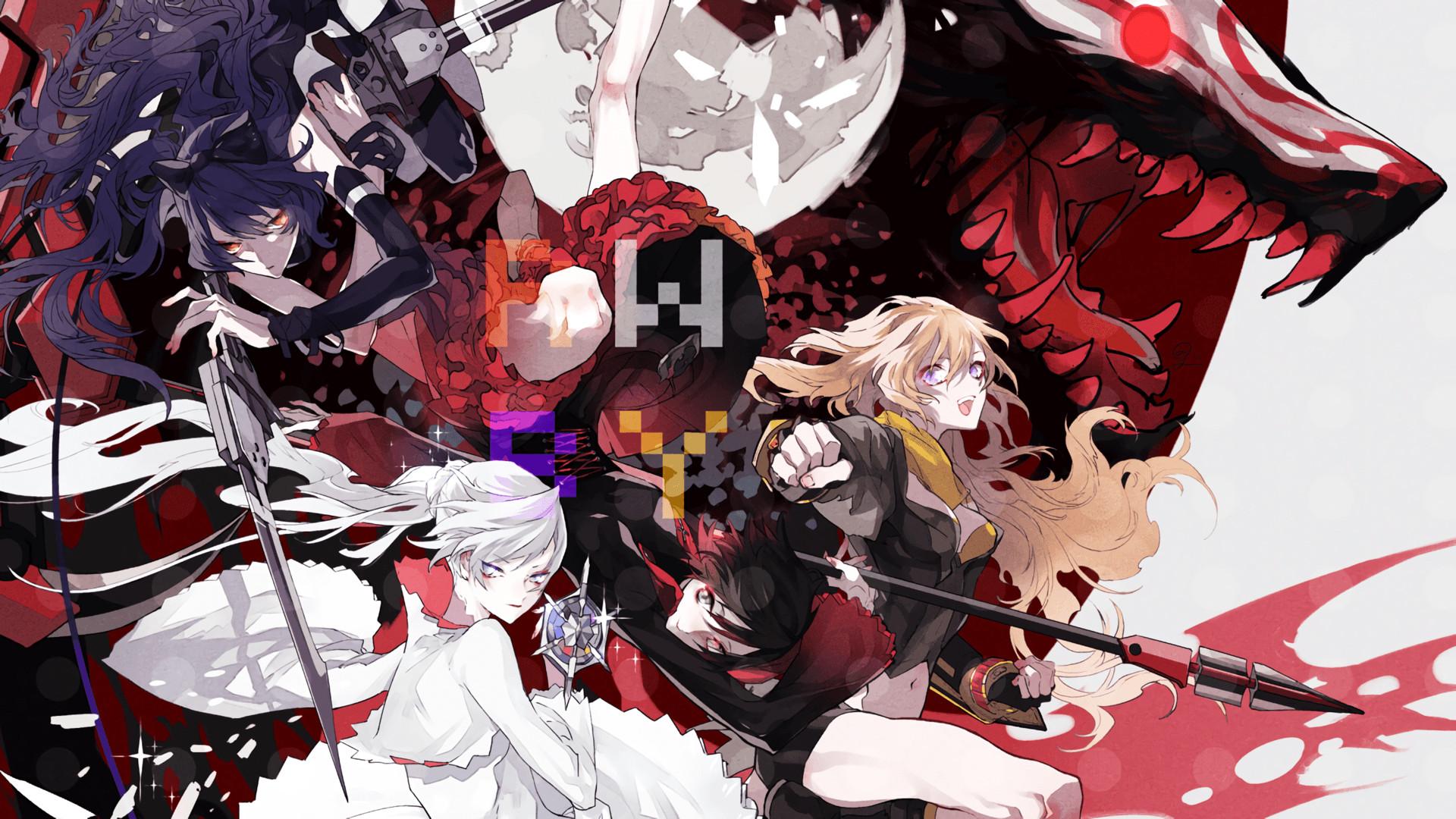 Anime <b>RWBY wallpapers</b> (<b>Desktop<