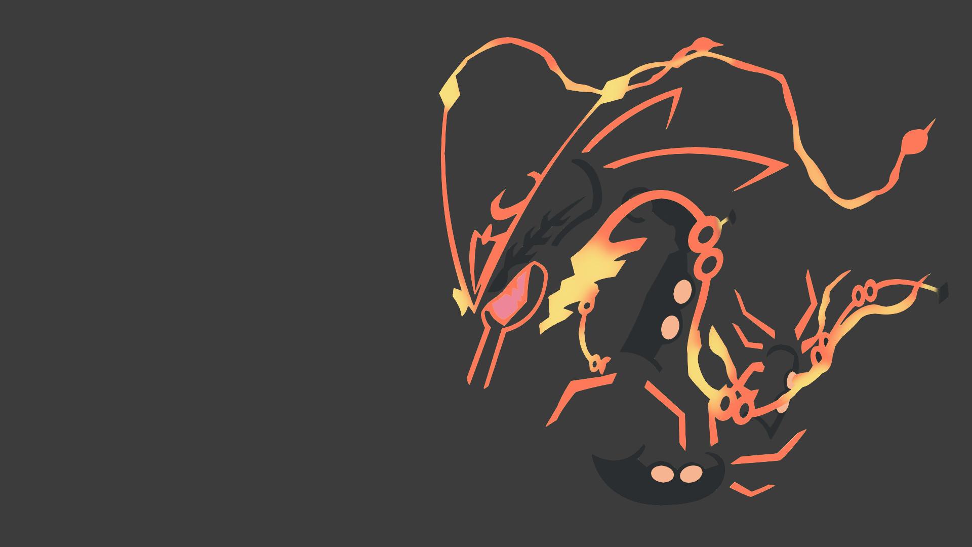 Mega Shiny Rayquaza Wallpaper by dracodragonblast on DeviantArt
