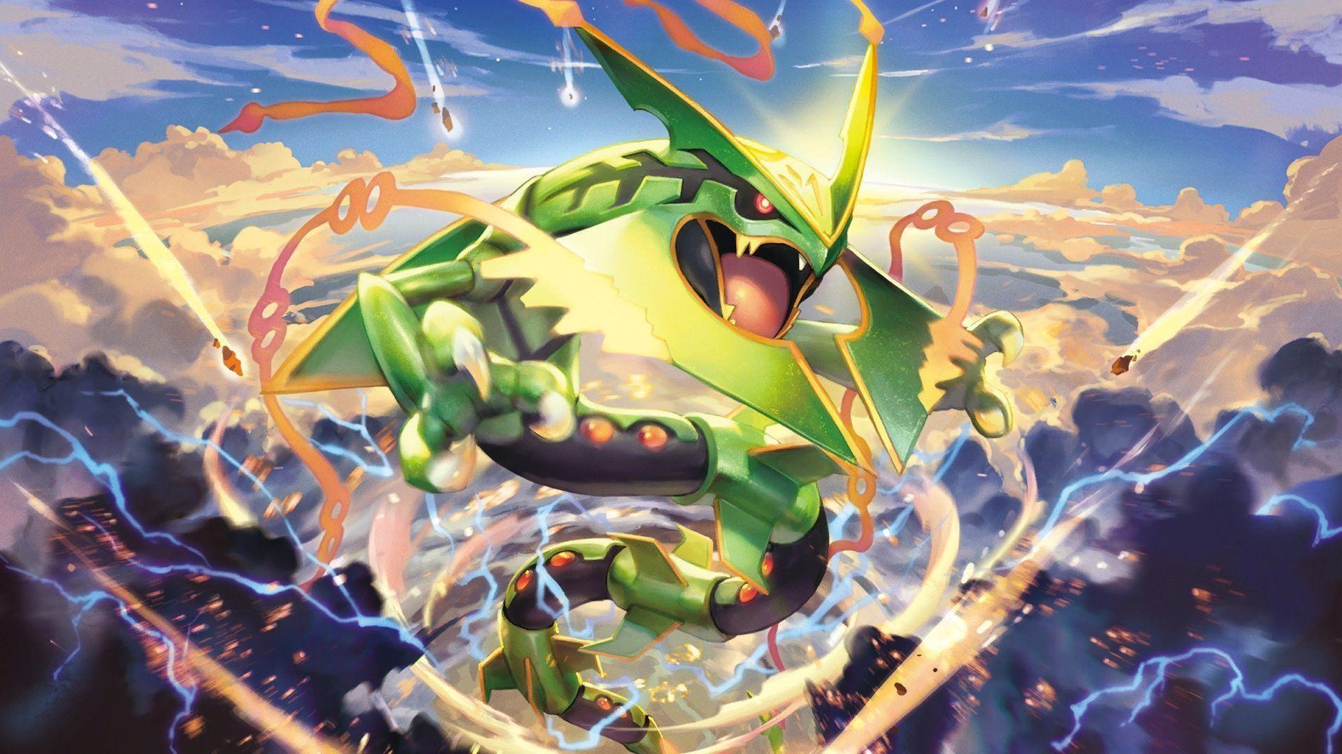 Pokemon Mega Rayquaza Wallpaper, Pokemon Mega Rayquaza Wallpapers .
