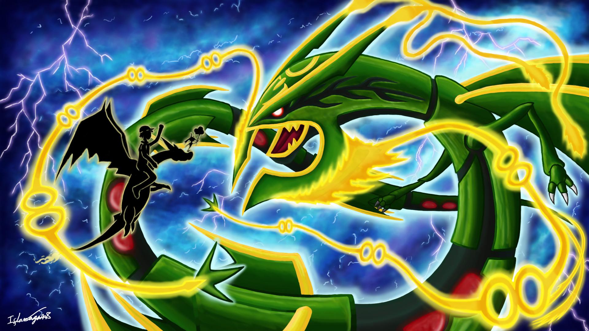 Pokemon Mega Rayquaza Images