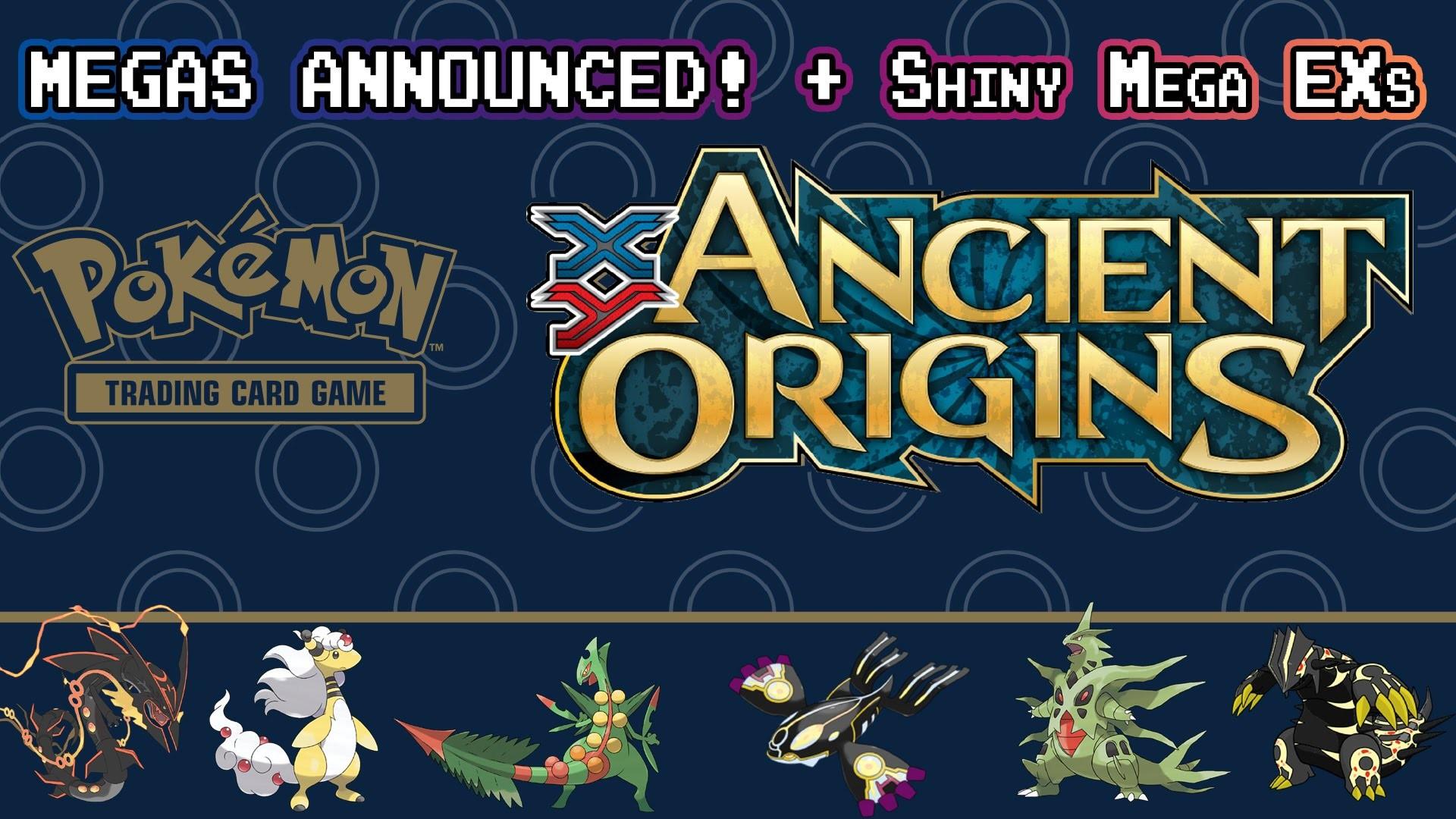 Bandit Ring/Ancient Origins News | Mega EXs Announced! + Shiny Mega EXs! –  YouTube