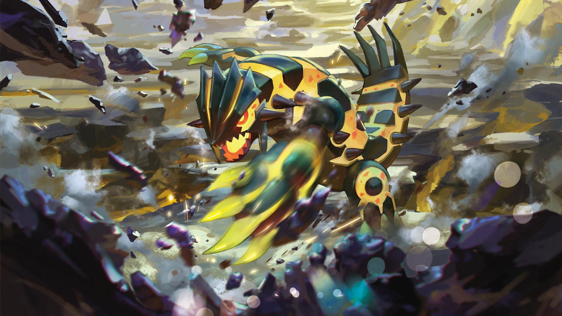 Image РShiny Mega Groudon РPokemon TCG XY Ancient Origins.png | Pok̩mon  Wiki | FANDOM powered by Wikia