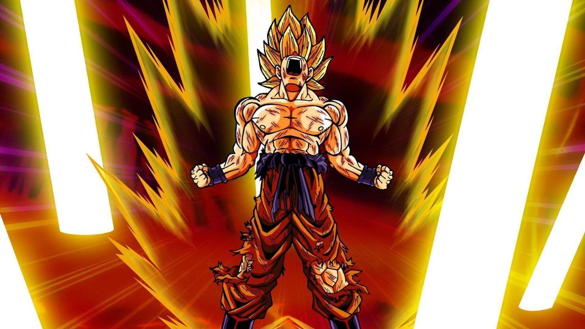 Goku – Dragon Ball Z Wallpaper #