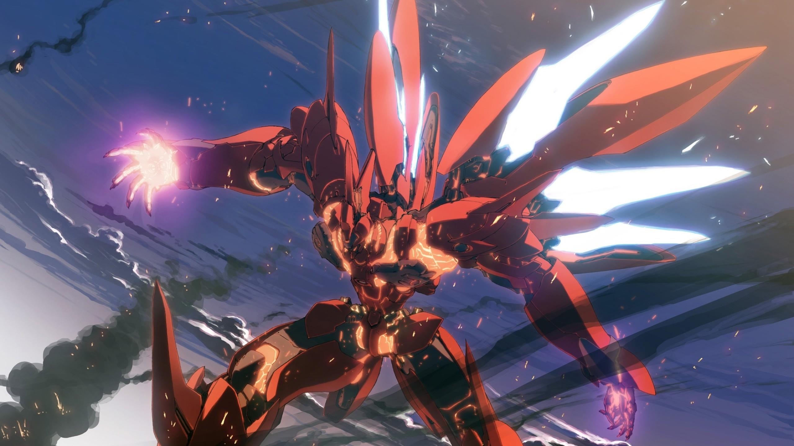 wings robots mecha anime 1920×1080 wallpaper Art HD Wallpaper