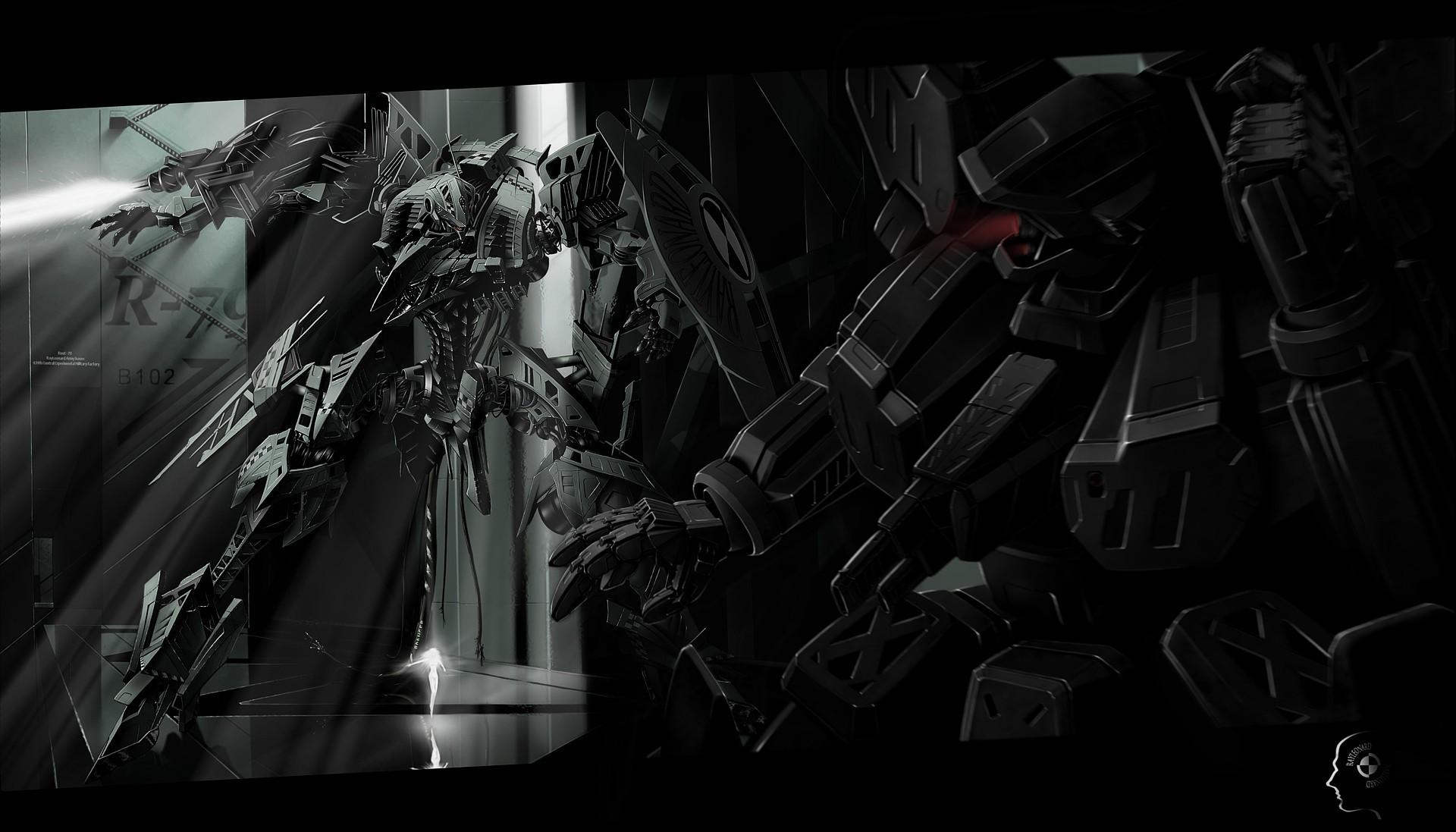 wallpaper dark · Mecha