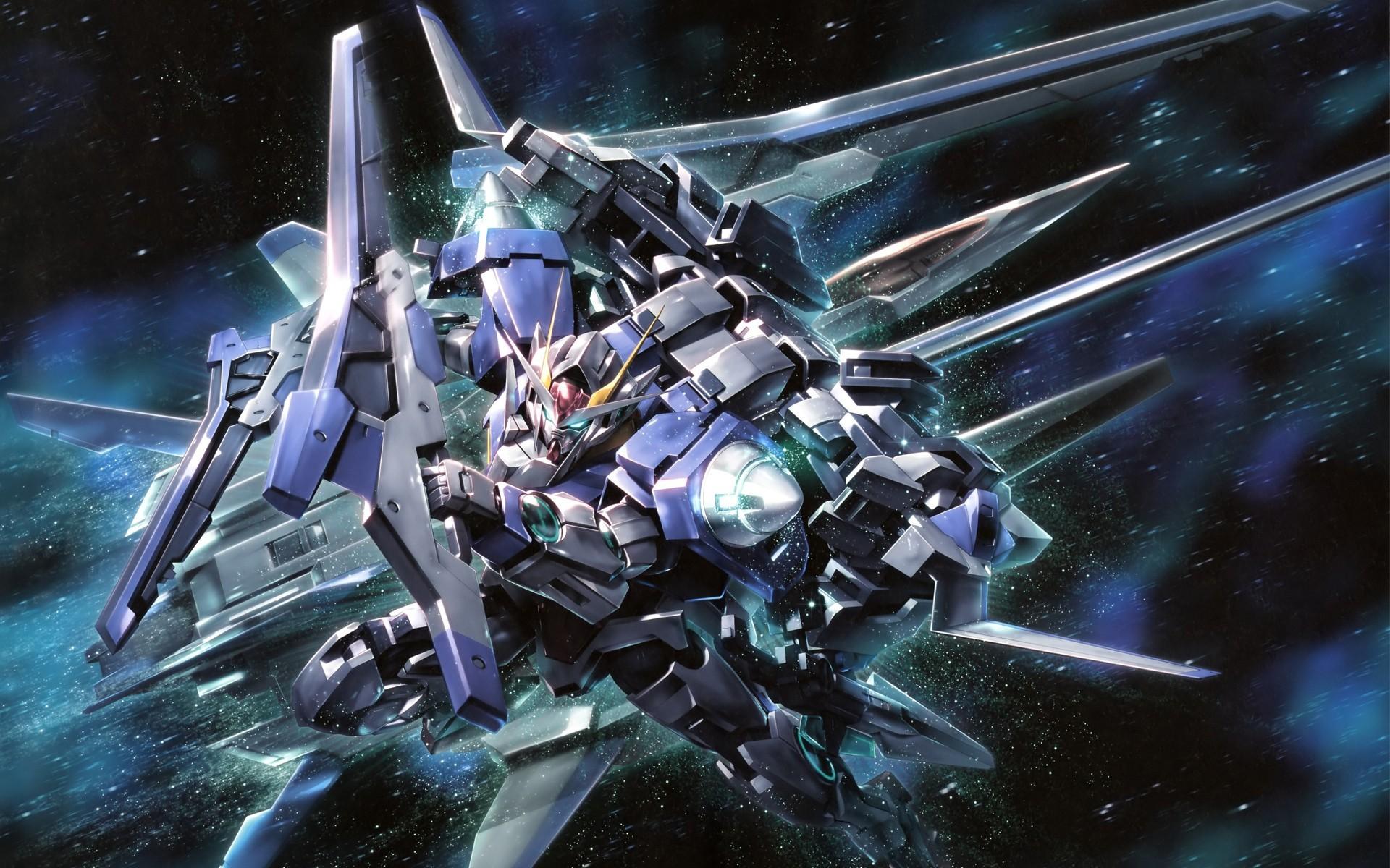 Mobile Suit Gundam 00 Anime Space Mechs Robots