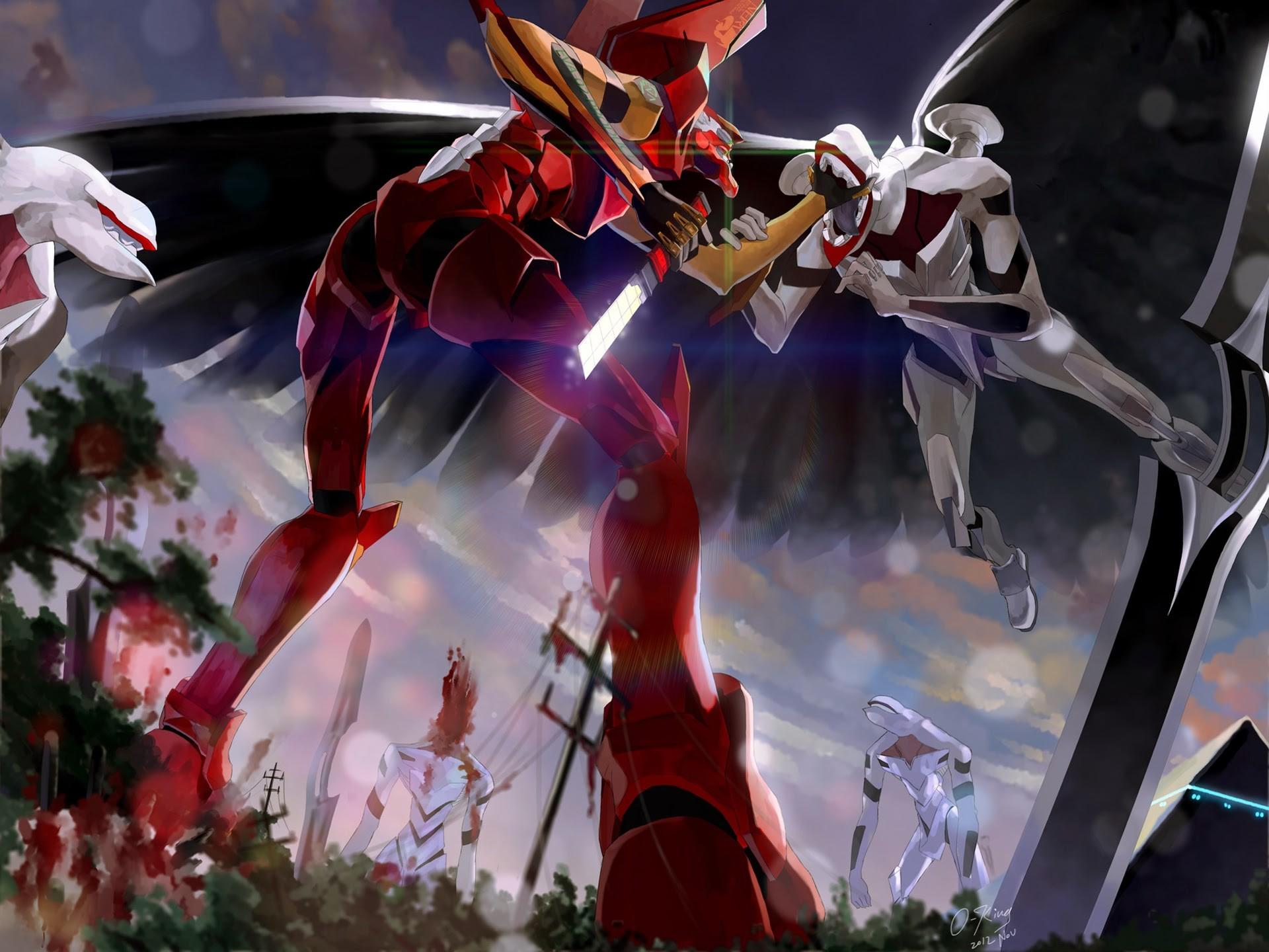<b>Mecha Neon Genesis</b> Evangelion – Eva Unit 002 #