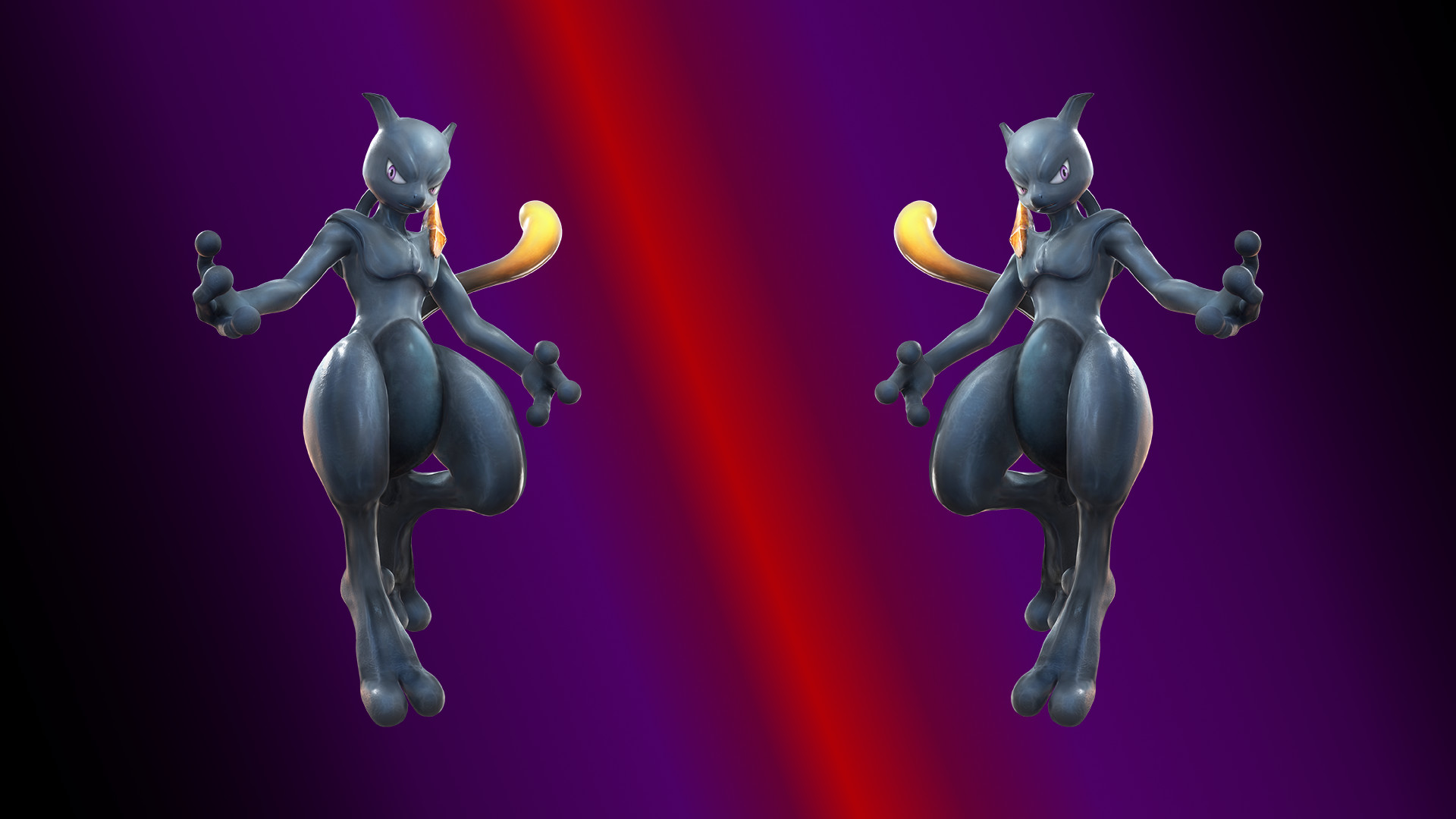 Shadow Mewtwo Wallpaper (1080p, 1920×1080) [HQ] …