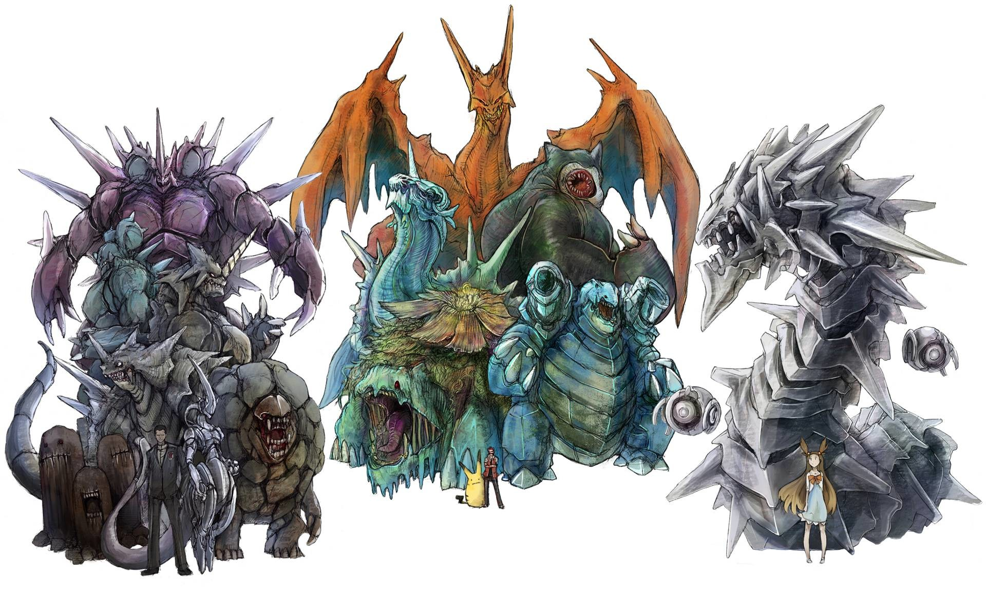 Realistic Pokemon Character Redesign