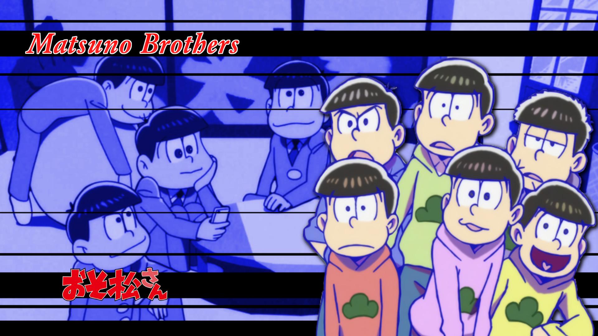 … Osomatsu-san Matsuno Brothers 01 by NekoTheOtaku