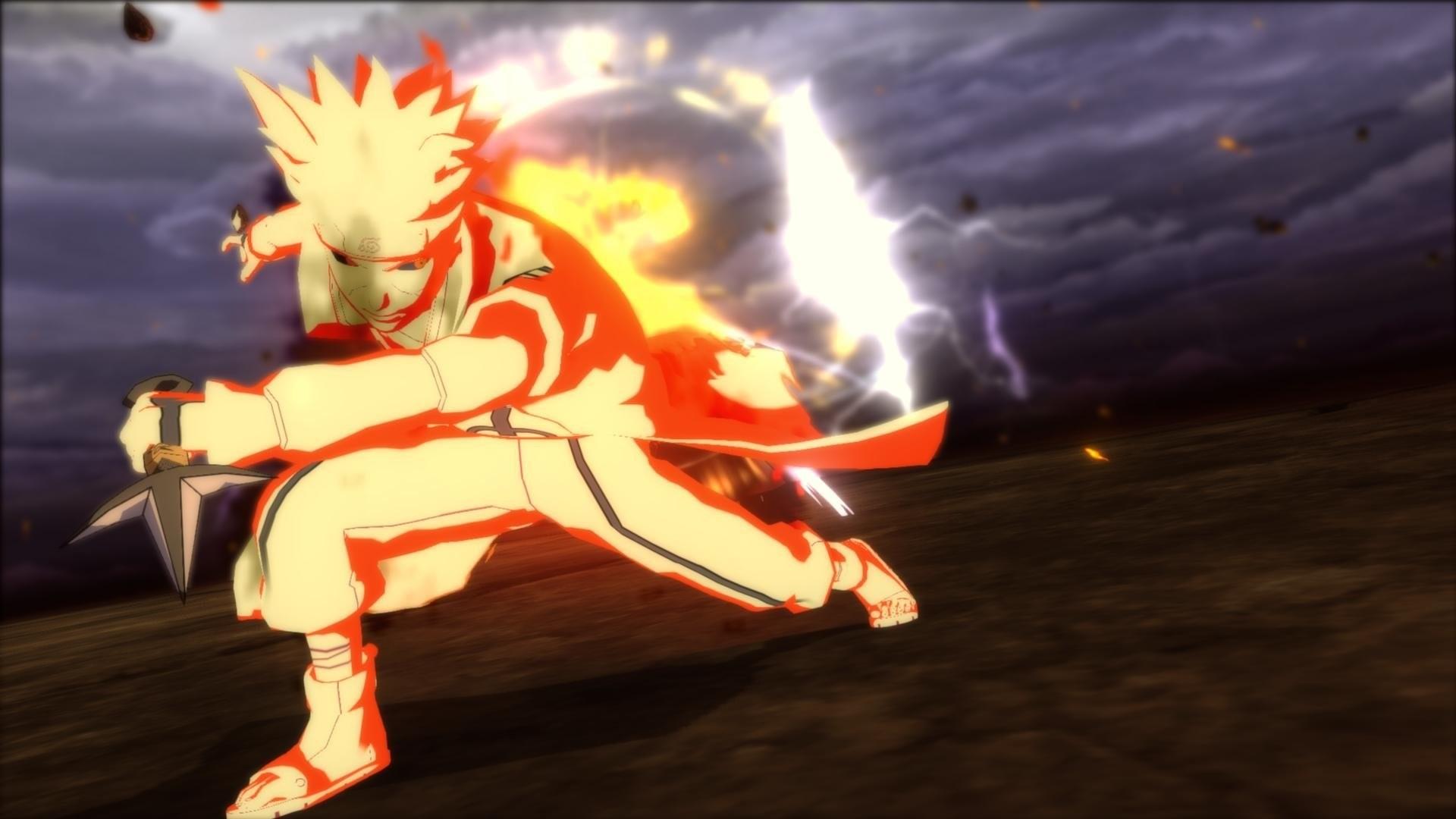 Jeux Vid̩o РNaruto Shippuden: Ultimate Ninja Storm Revolution Minato  Namikaze Fond d'̩cran