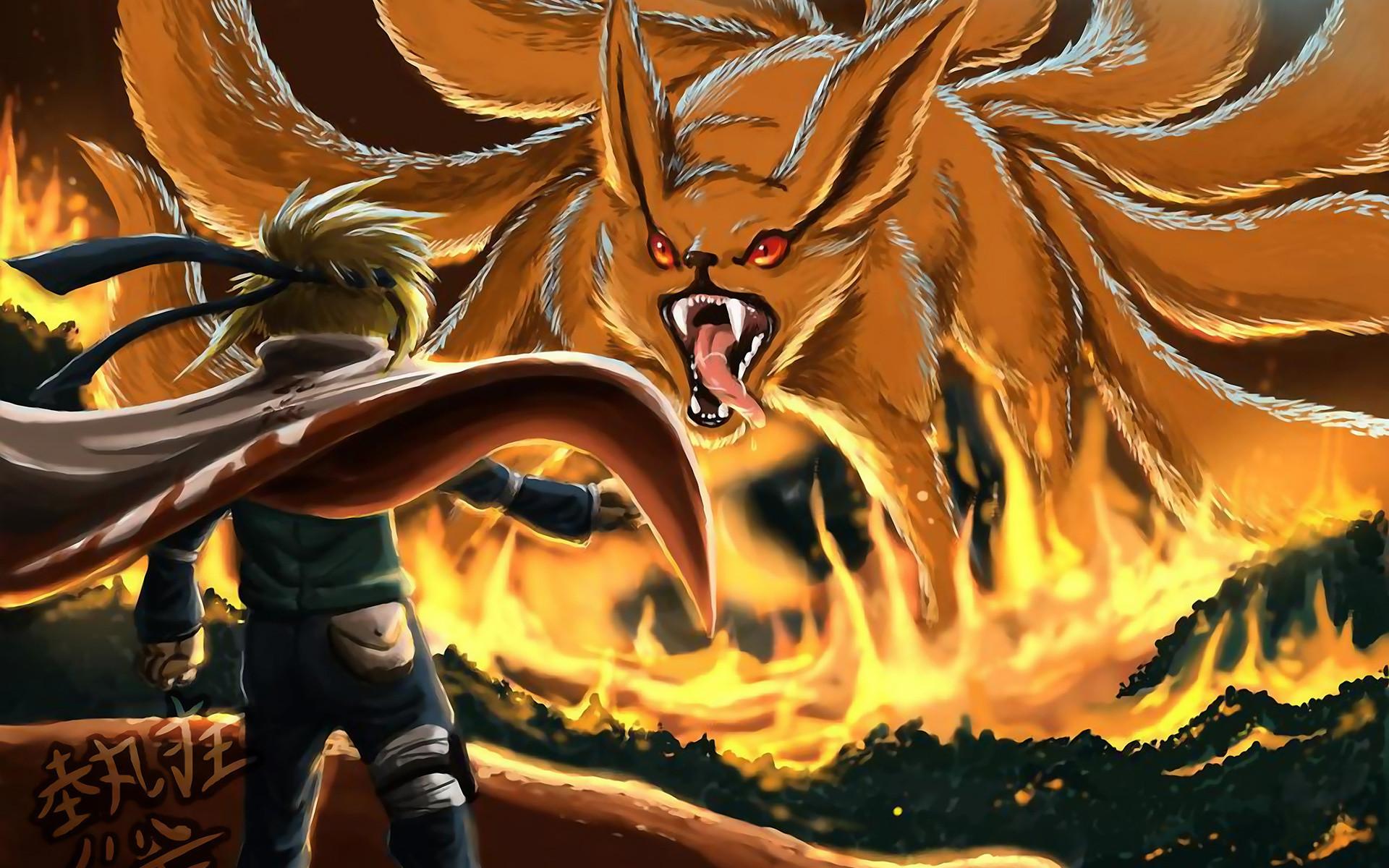 Naruto Shippuden Minato Namikaze vs… Desktop Wallpaper